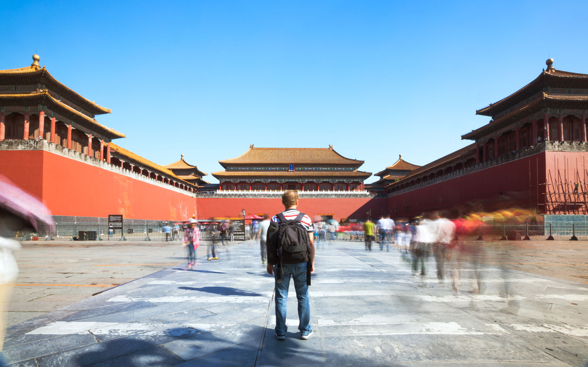 Beijing China Trust Instincts Solo Travel