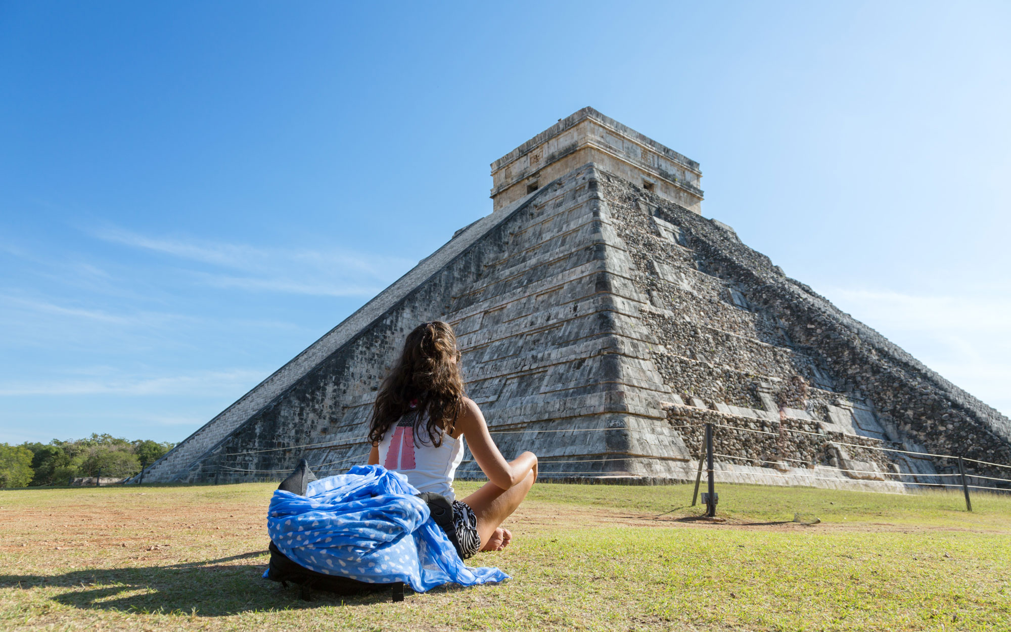 Chicen Itza Mexico Solo Introspective Moments