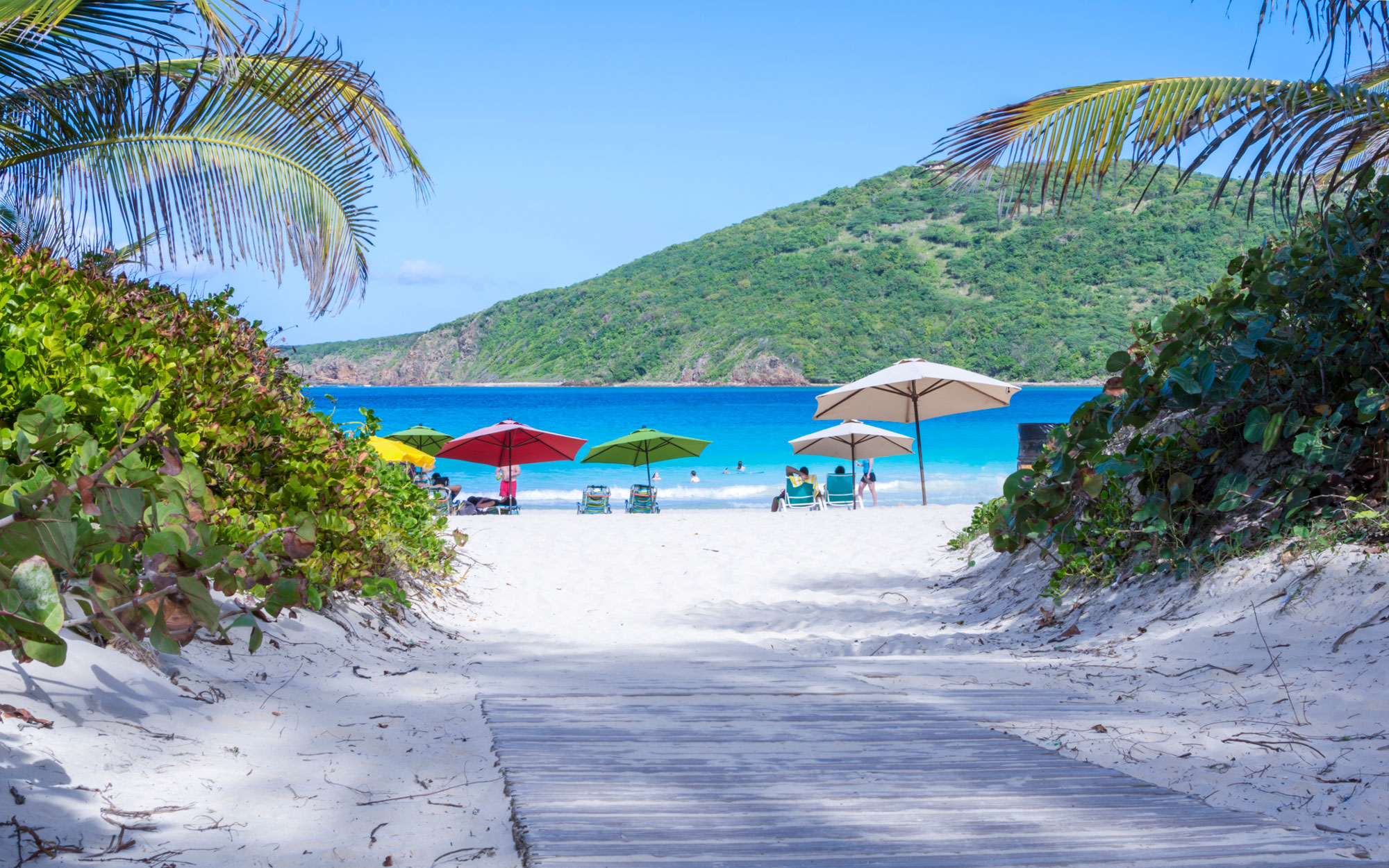 Flamenco Beach Puerto Rico
