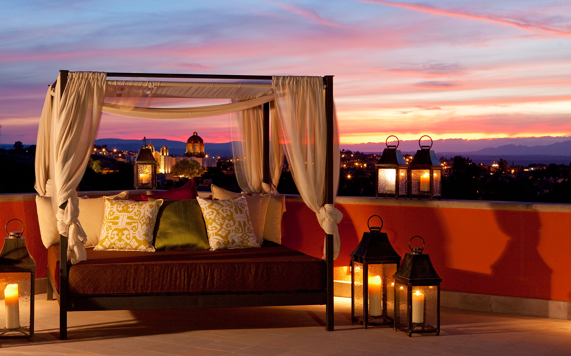 12 New Penthouse Perches To Swoon Over: The Rosewood Suite, Rosewood San Miguel de Allende