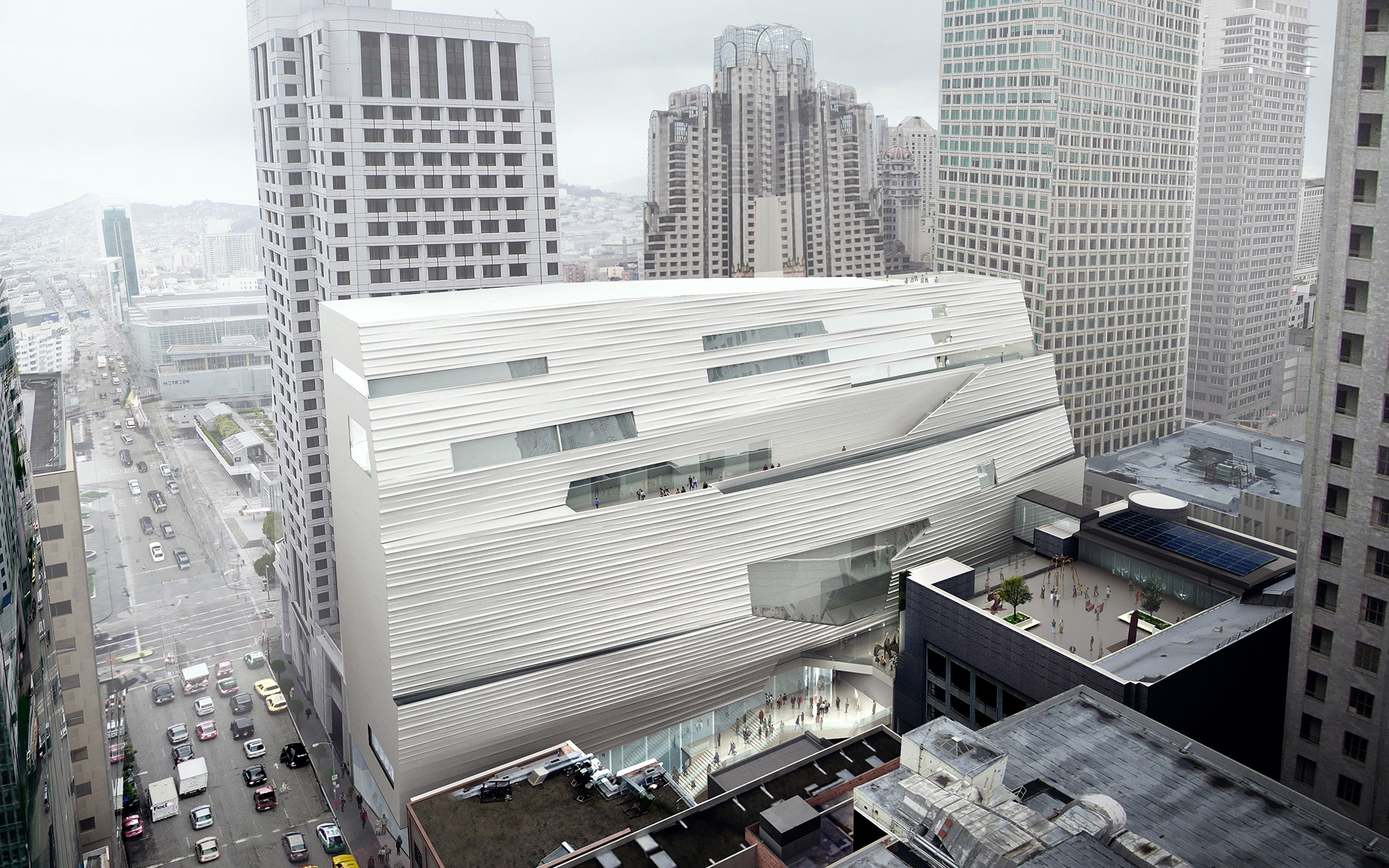SFMOMA, in San Francisco