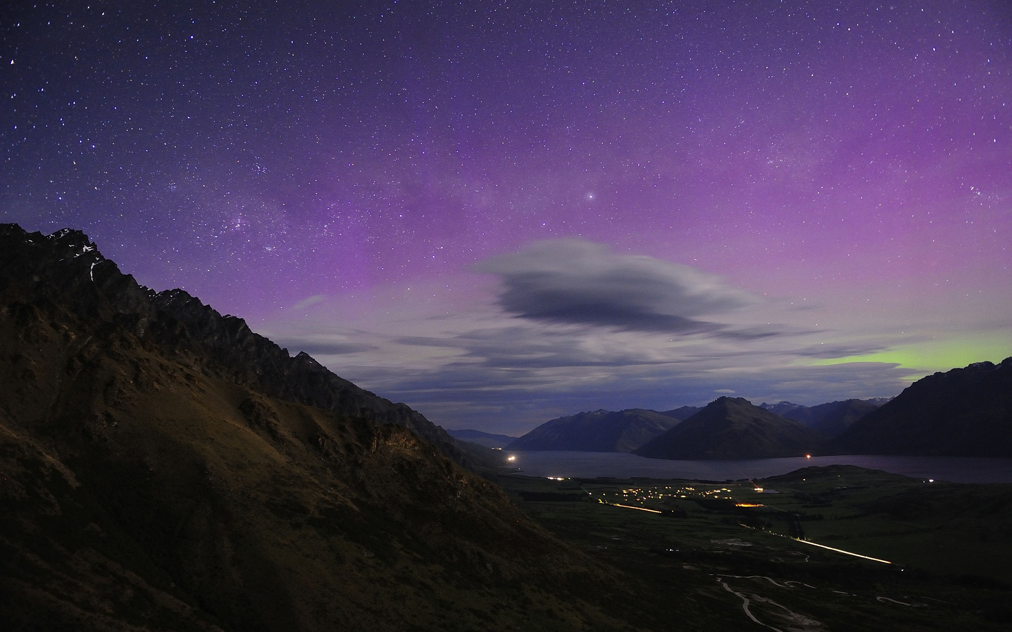 Southern Lights - Queenstown