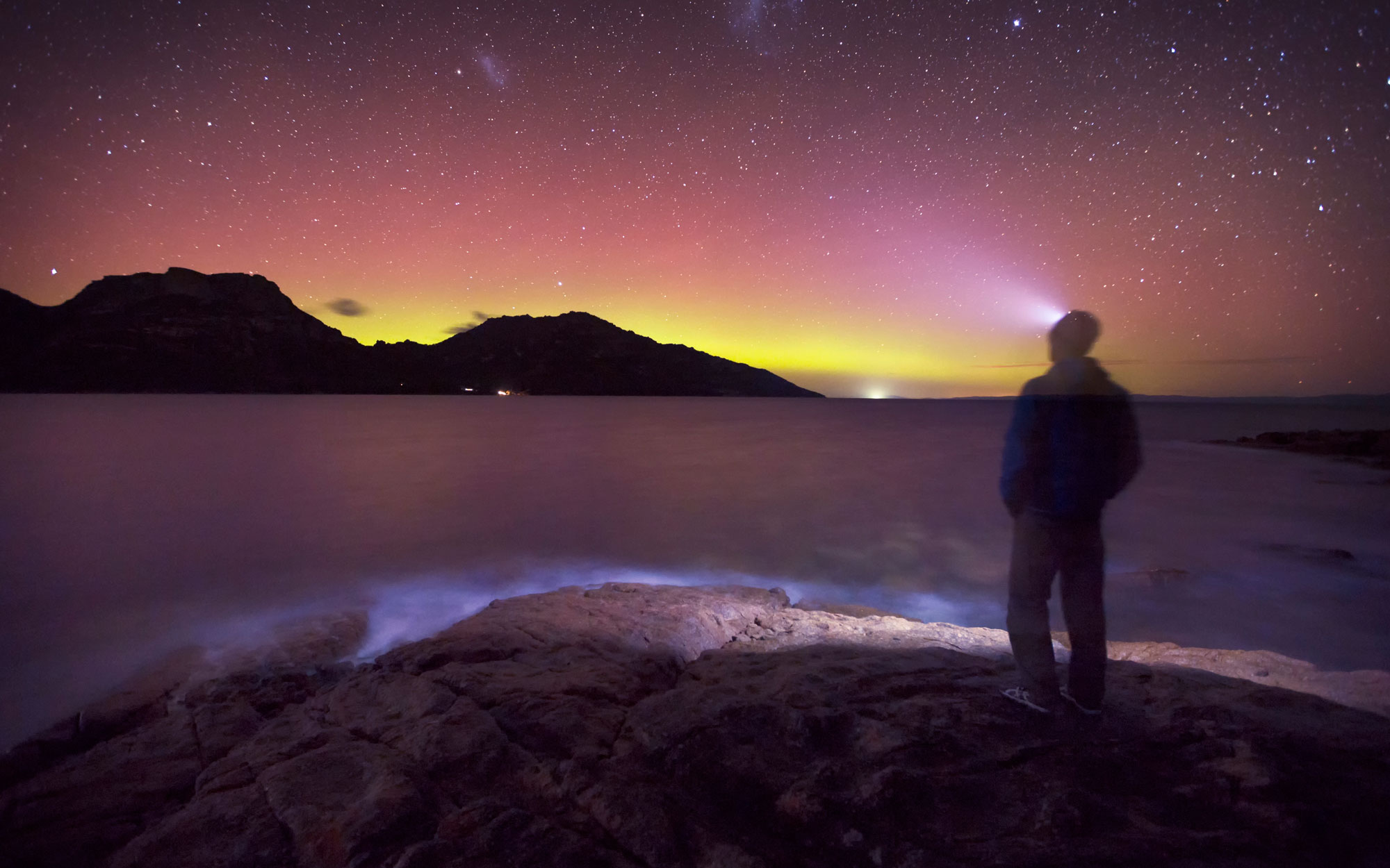 Southern Lights - Coles Bay