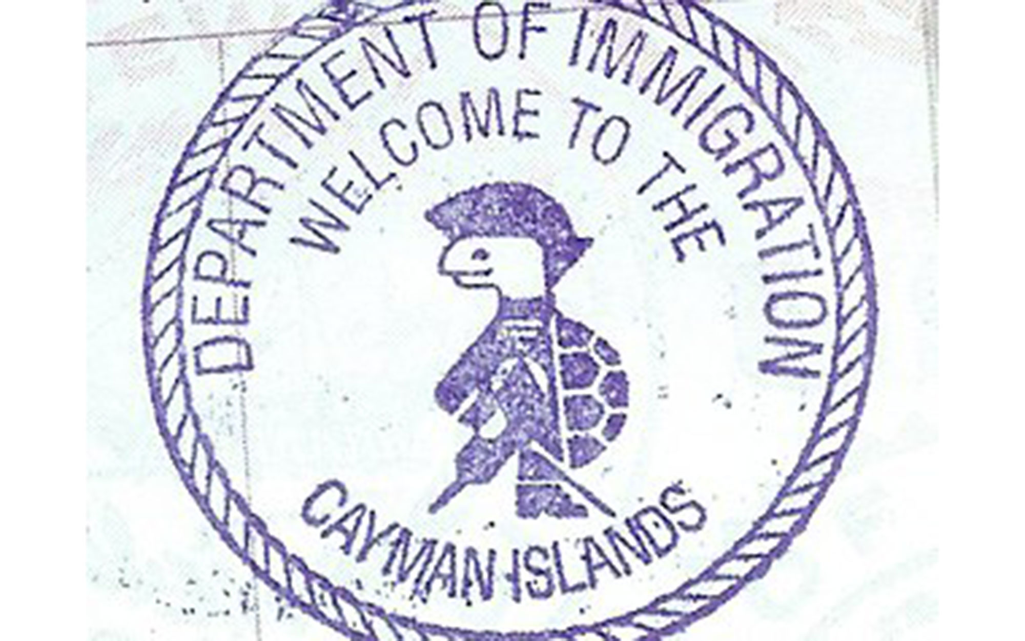 10 Coolest Passport Stamps in the World: Cayman Islands