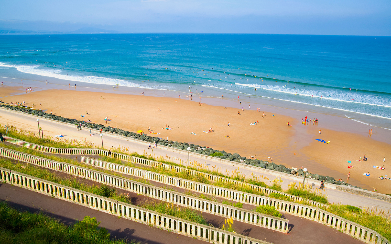 Best Beaches in France: Côte des Basques, Biarritz