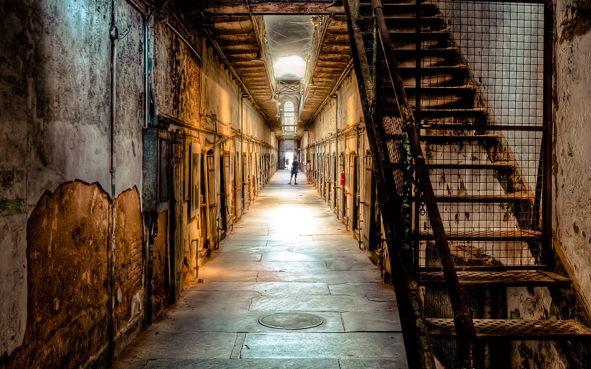 Abandoned Movie Sets You Can Still Visit: 12 Monkeys Set at Eastern State Penitentiary in Philadelphia, Pennsylvania