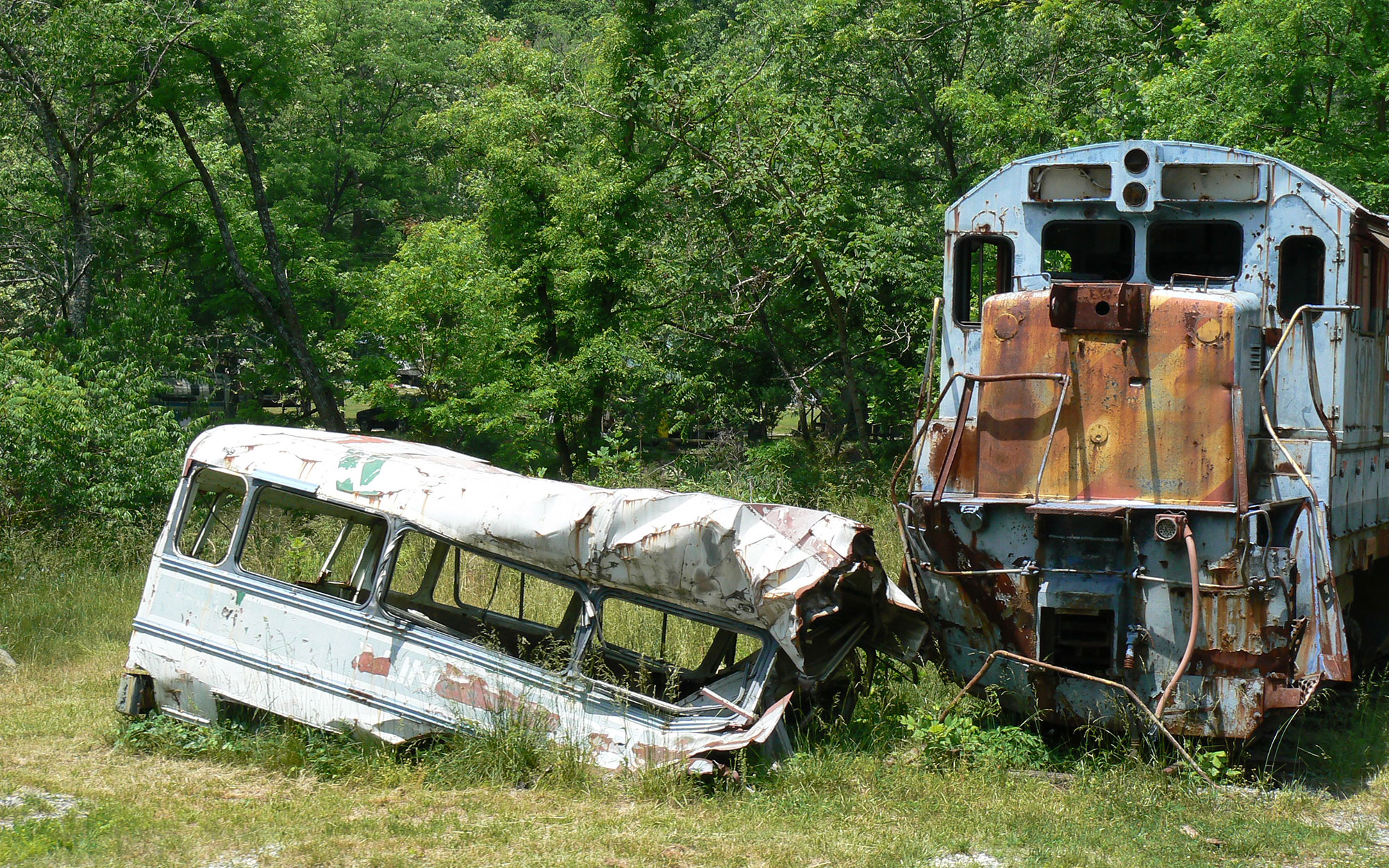 Abandoned Movie Sets You Can Still Visit: The Fugitive Bus Scene in Dillsboro, North Carolina