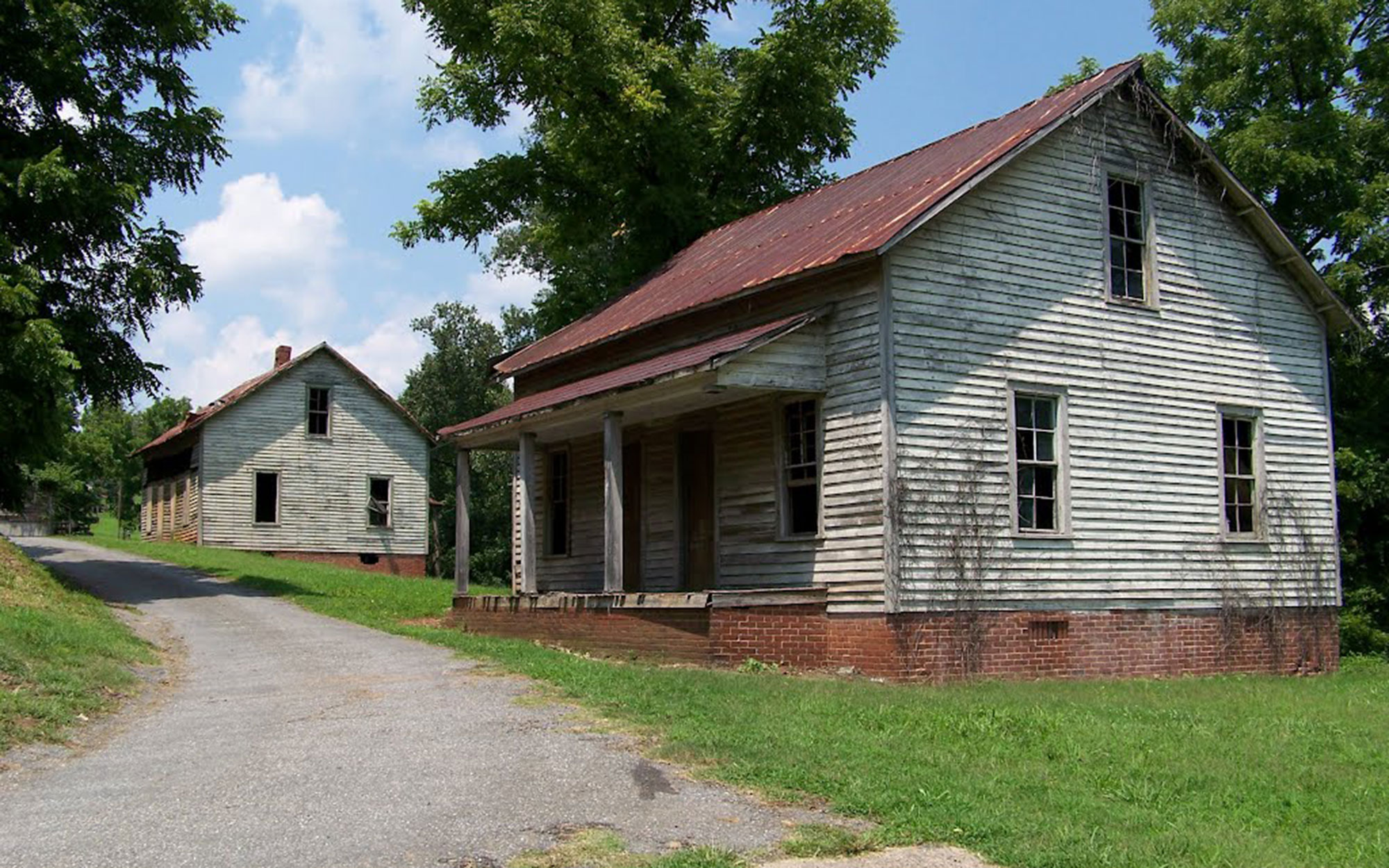Abandoned Movie Sets You Can Still Visit: Hunger Games' District 12 in Henry River Mill Village, North Carolina