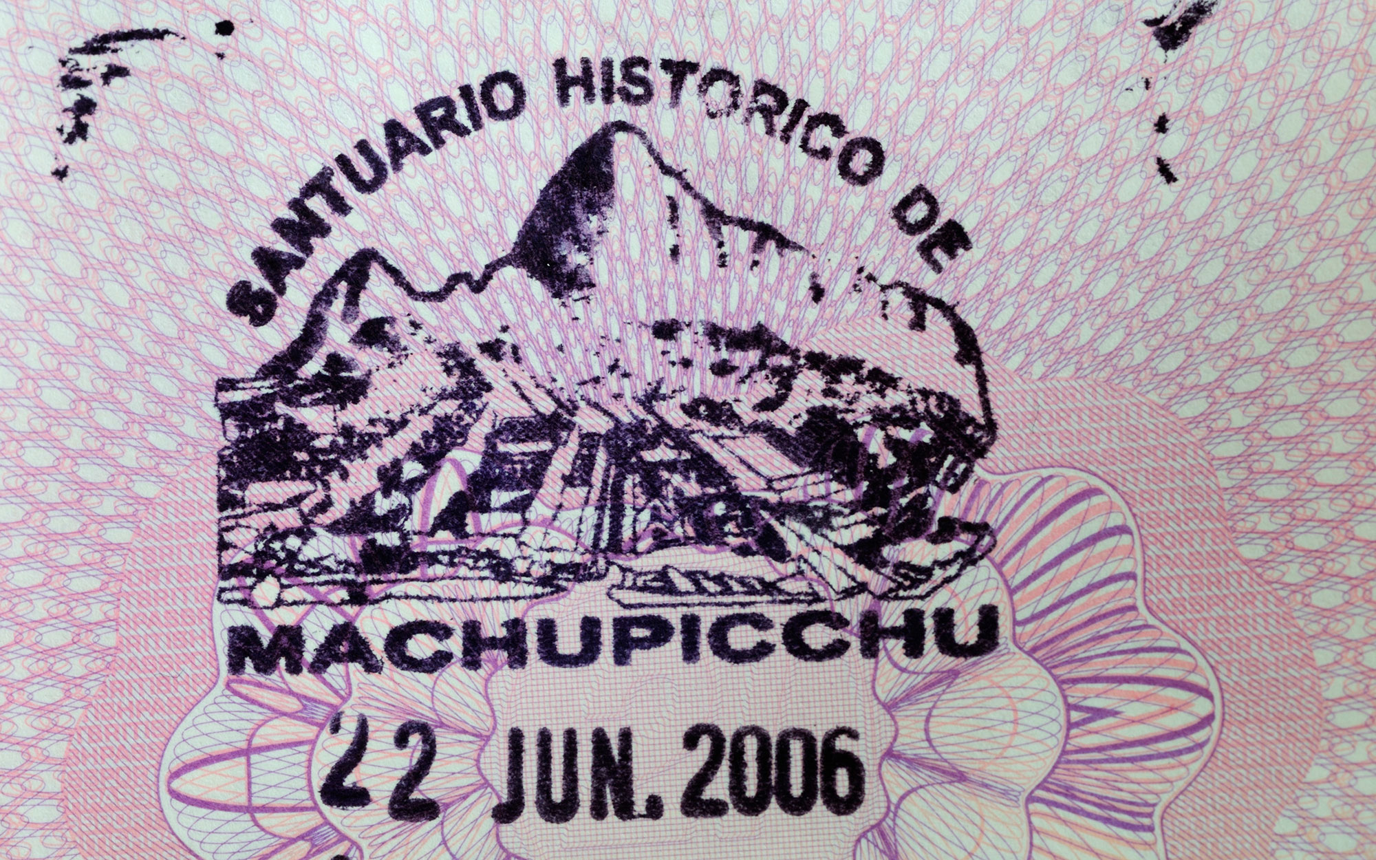 10 Coolest Passport Stamps in the World: Machu Picchu