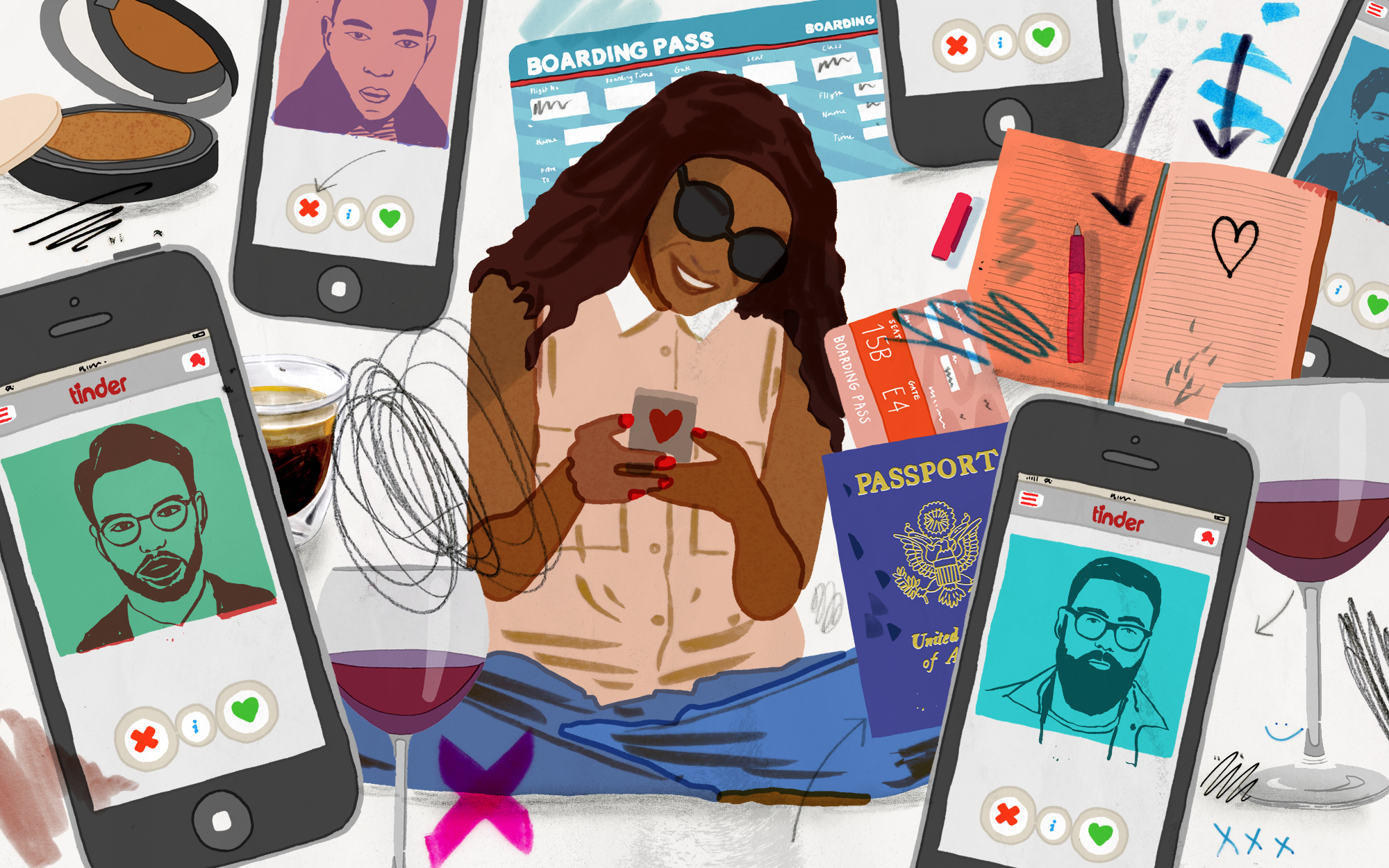 Tindering While Traveling
