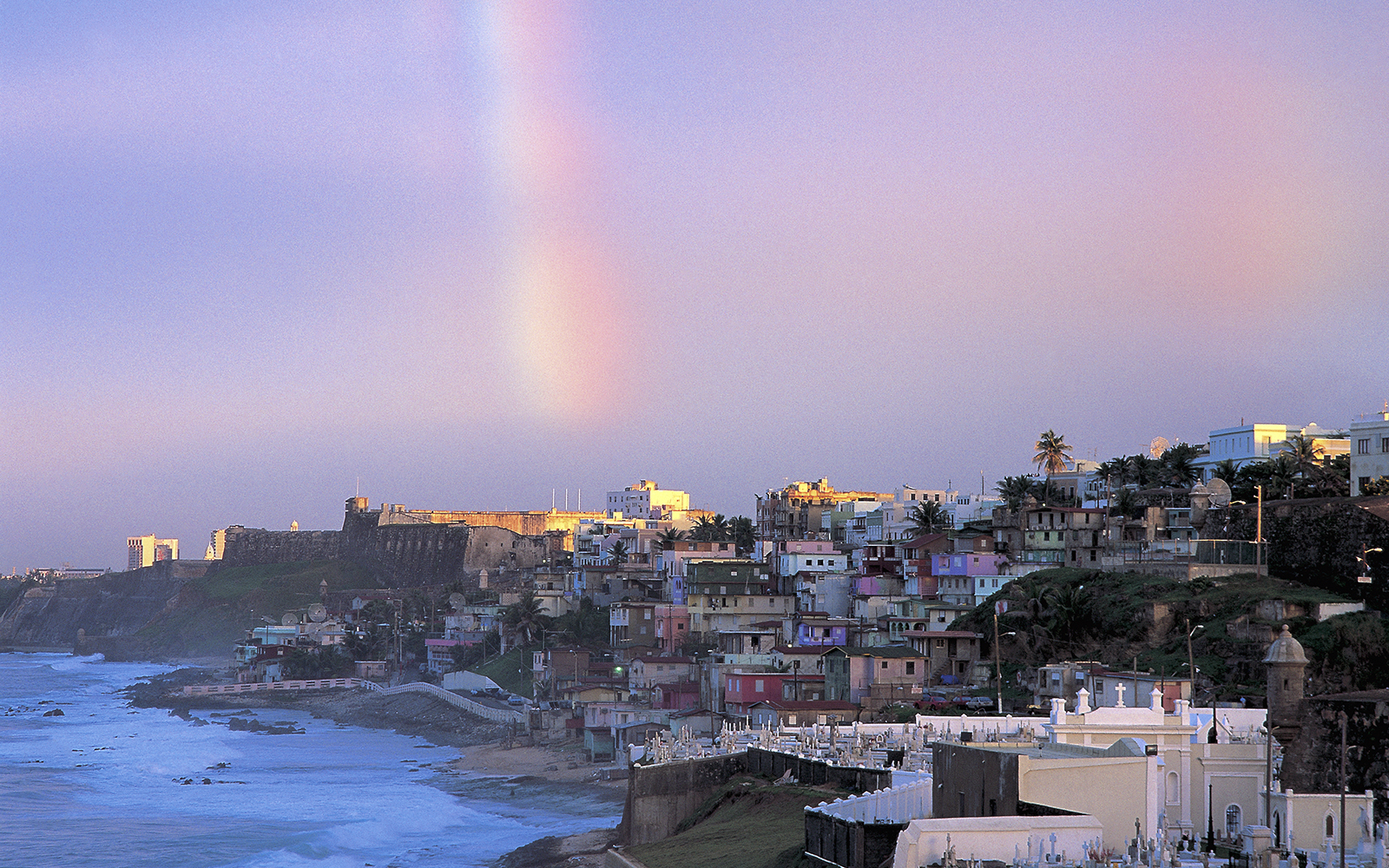 Rainbow Over Old San Juan
