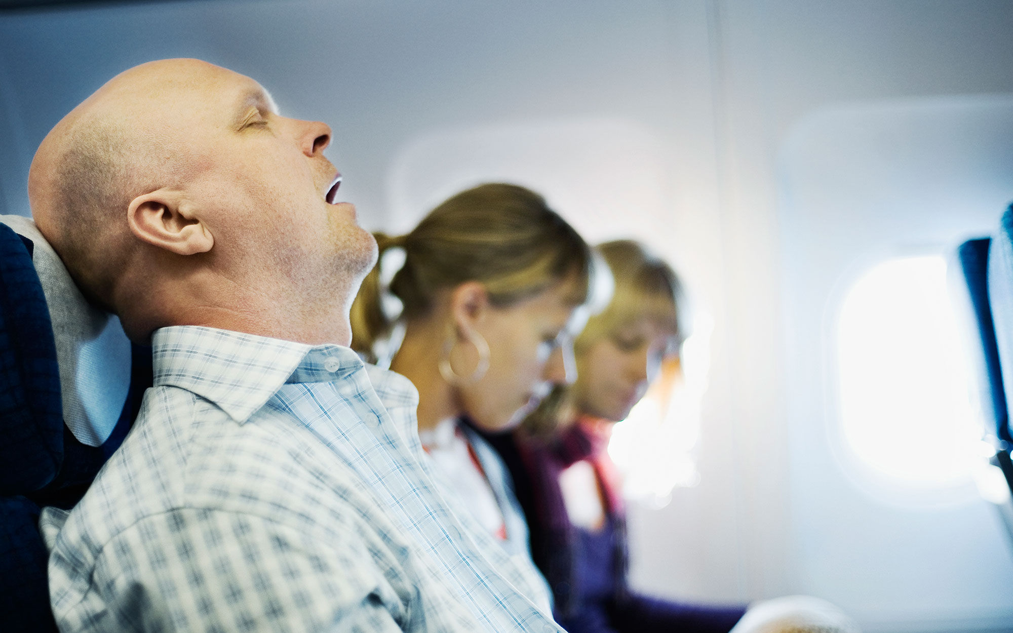 If Your Seatmate Snores