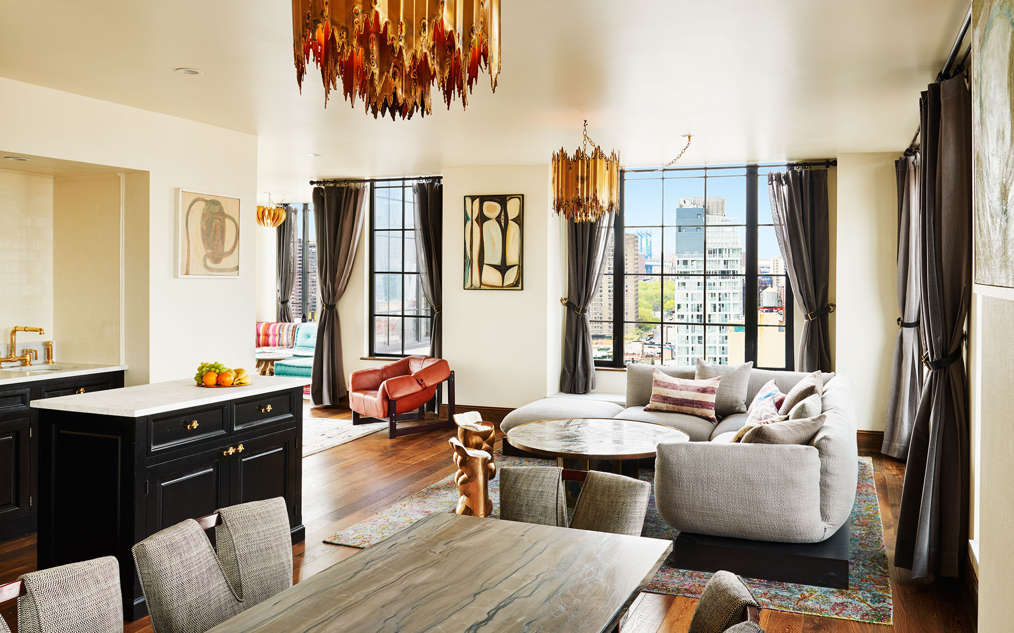12 New Penthouse Perches To Swoon Over: The Penthouse, Ludlow Hotel, New York City
