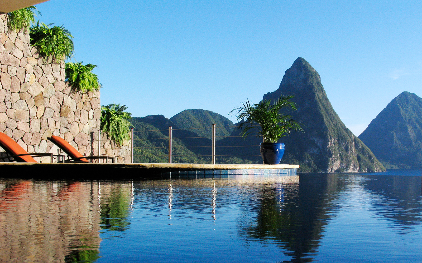 Best Caribbean Resorts: Jade Mountain, St. Lucia