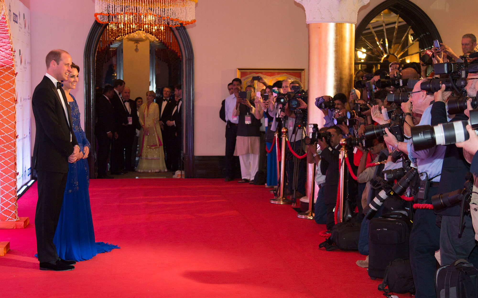Prince William and Kate Middleton Embark on their Royal Tour of India and Bhutan: Dazzling at a Bollywood Ball