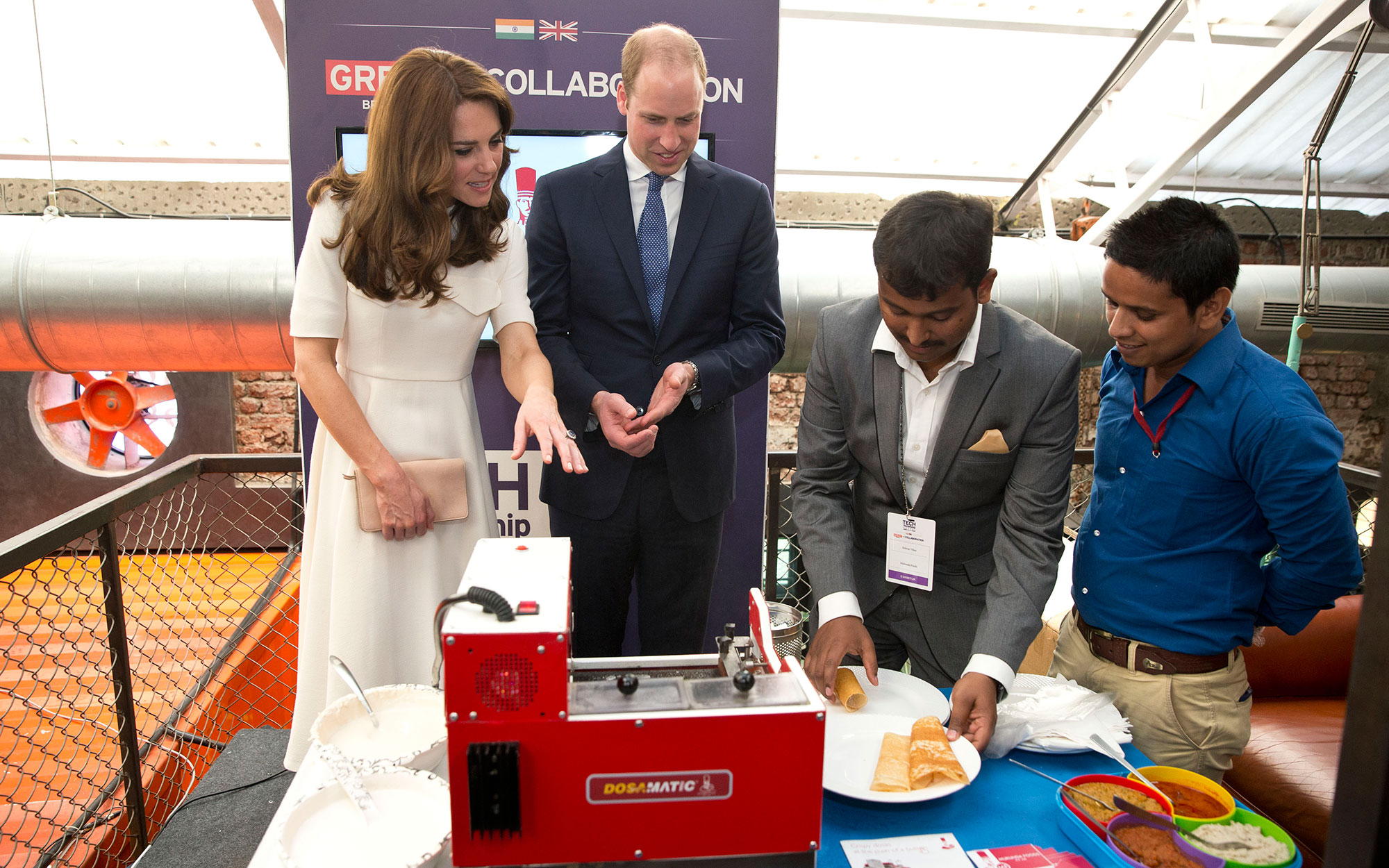 Prince William and Kate Middleton Embark on their Royal Tour of India and Bhutan: Cooking up a storm