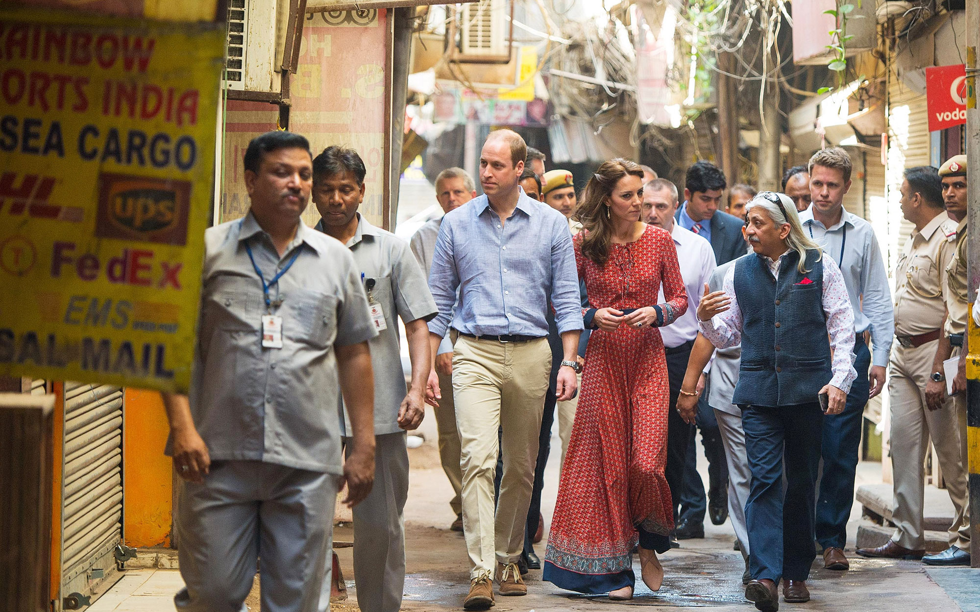 Prince William and Kate Middleton Embark on their Royal Tour of India and Bhutan: Visiting a Children's Center