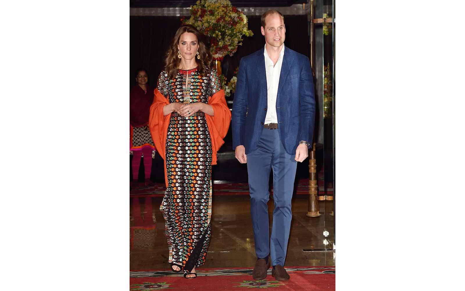 Prince William and Kate Middleton Embark on their Royal Tour of India and Bhutan: Attending a Royal Ball