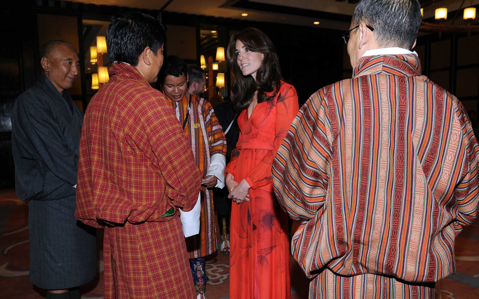 Prince William and Kate Middleton Embark on their Royal Tour of India and Bhutan: Attending a Reception