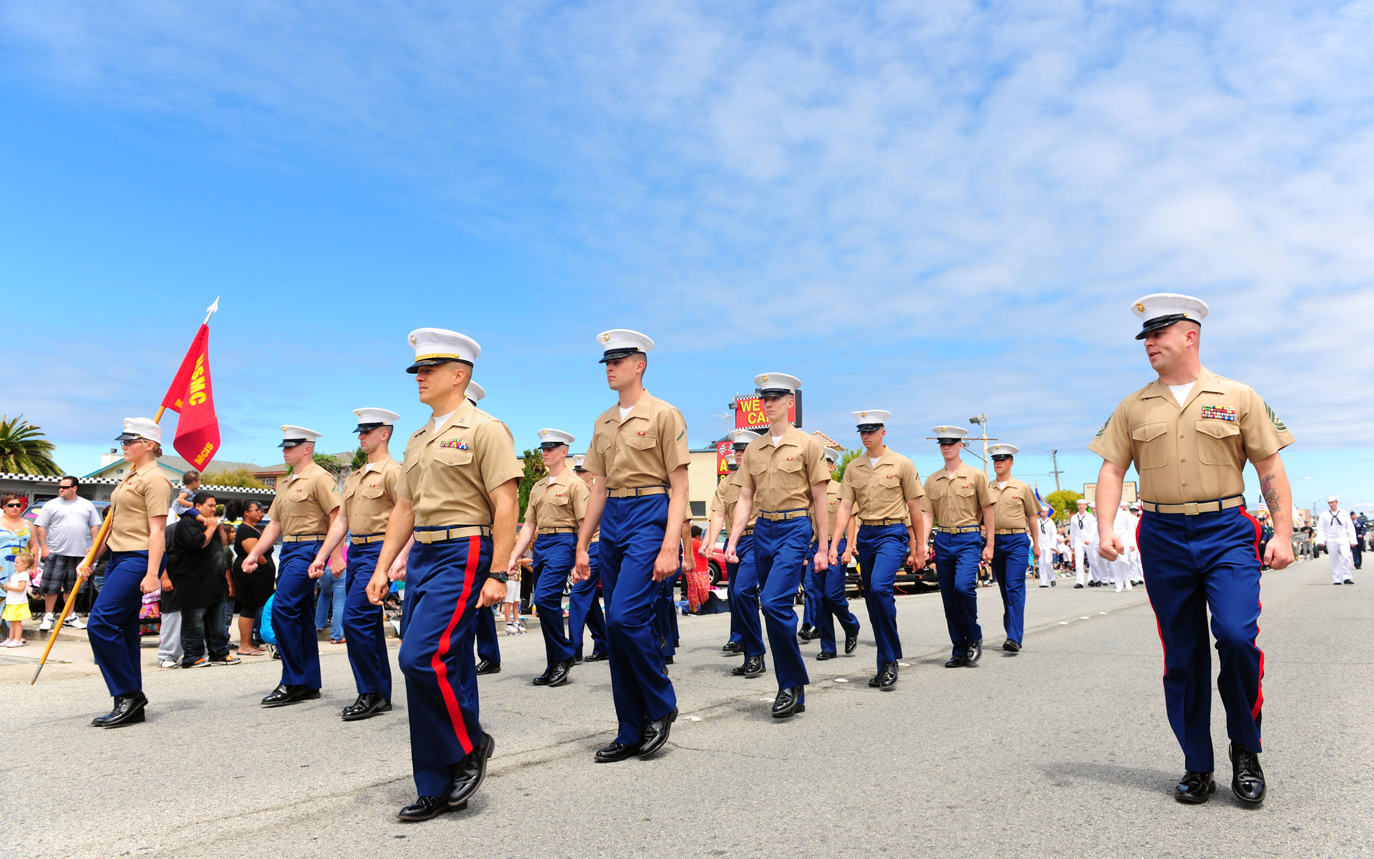 Independence Day celebrations by participating in Seaside's 65th Parade of Champions