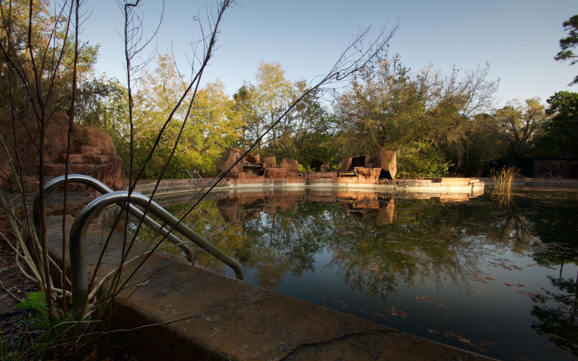 Disney River Country - Abandoned Pool