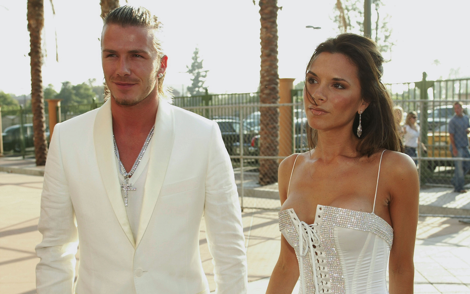 Victoria and David Beckham: Ireland