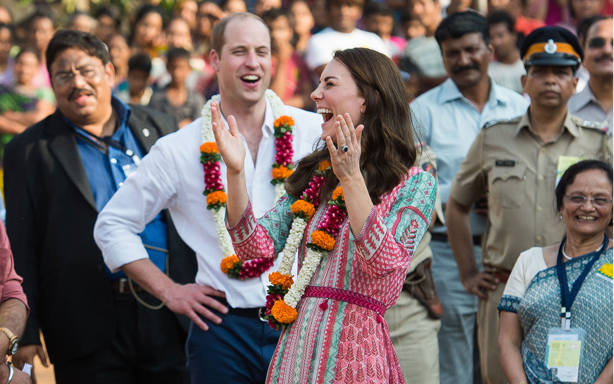 Prince William and Kate Middleton Embark on their Royal Tour of India and Bhutan: Visiting Historic Sites