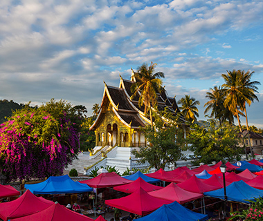 Best Romantic Summer Getaways: Luang Prabang