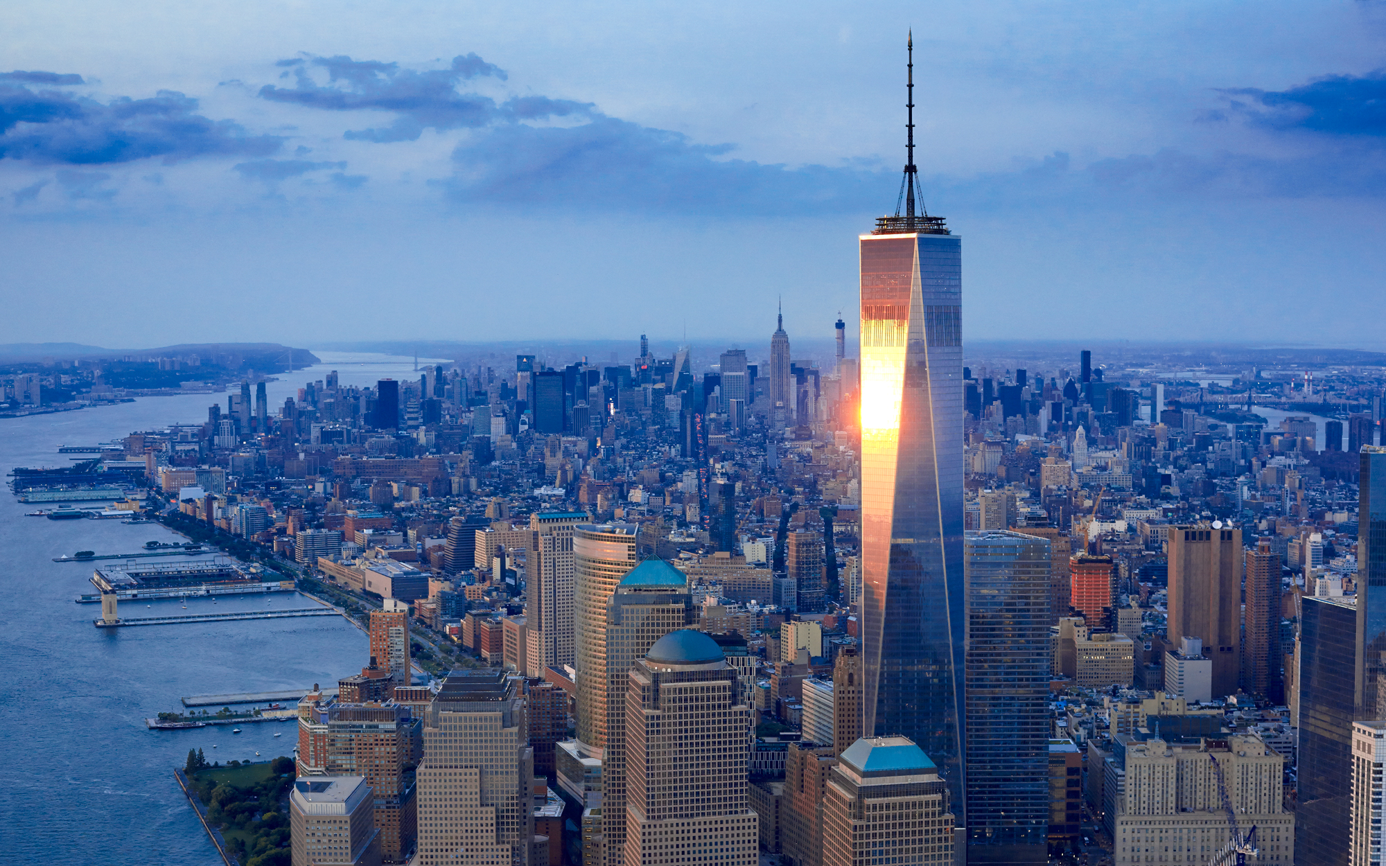 6. One World Trade Center, New York City (1,776 feet)