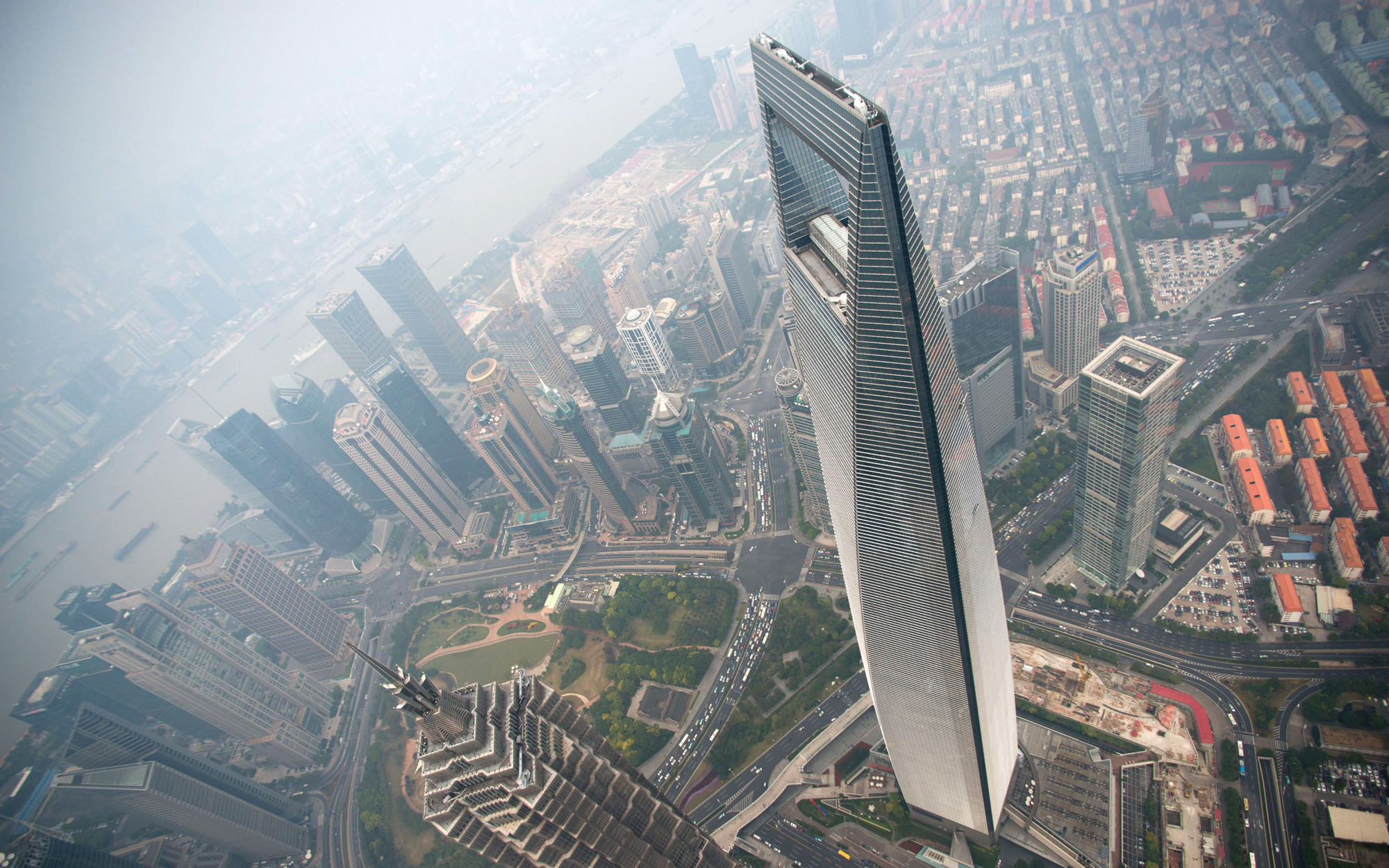 9. Shanghai World Financial Center, Shanghai (1,614 feet)