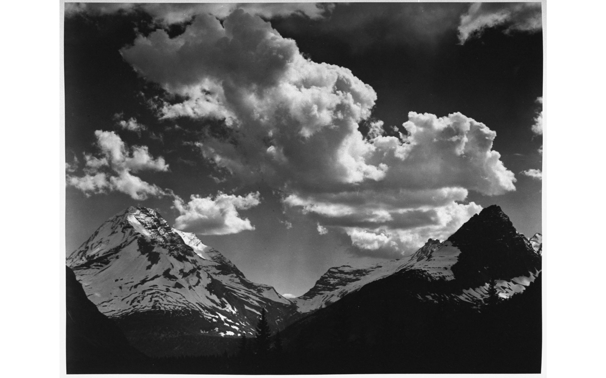 Ansel Adams Glacier National Park