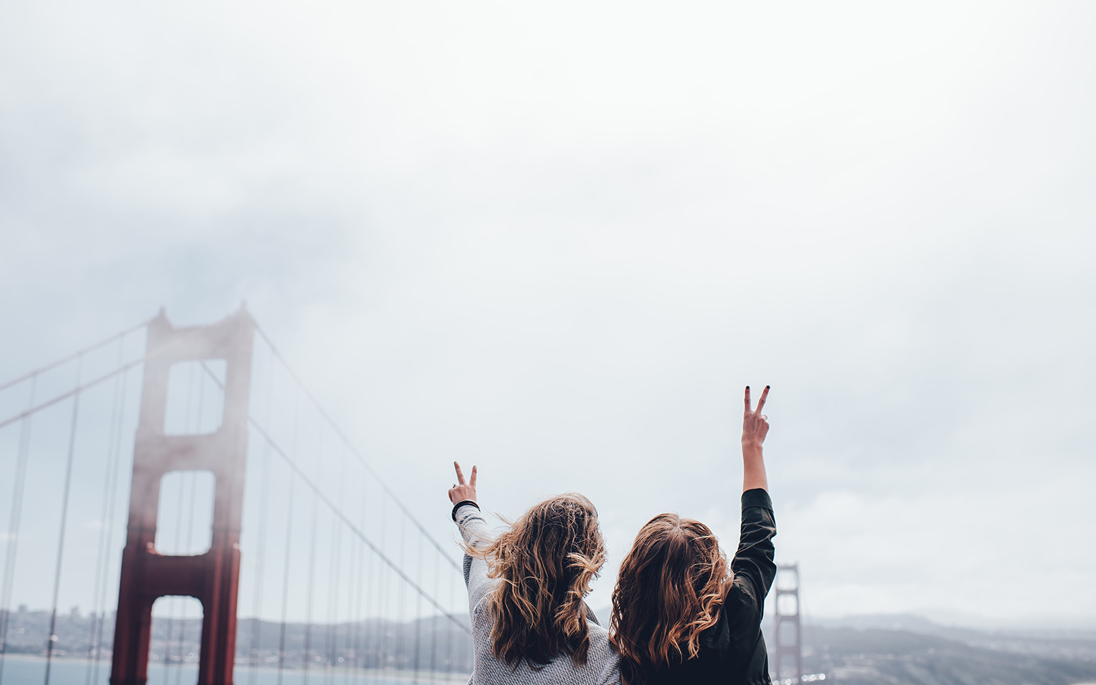 two girls in san francisco