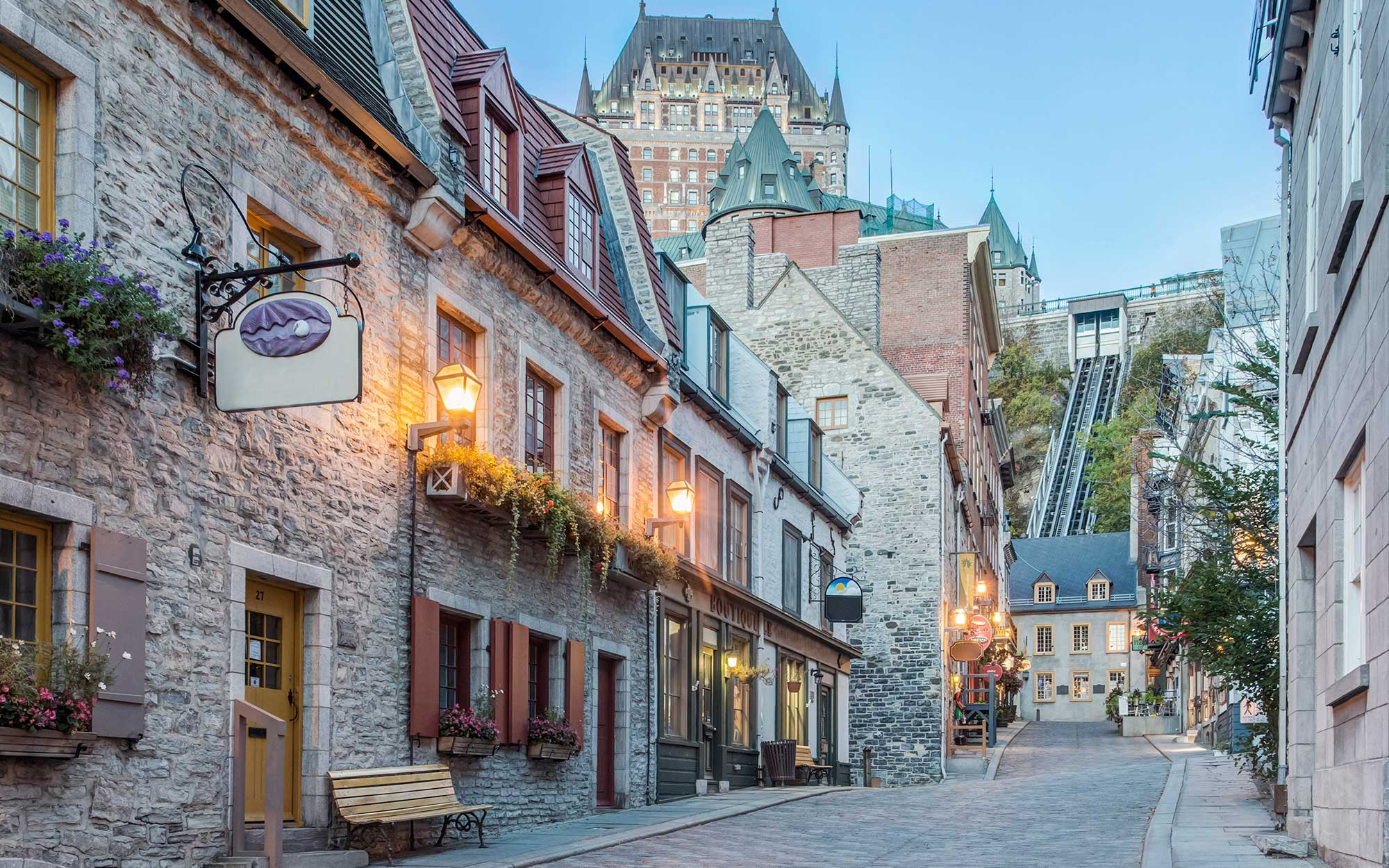 Best Romantic Summer Getaways: Quebec City