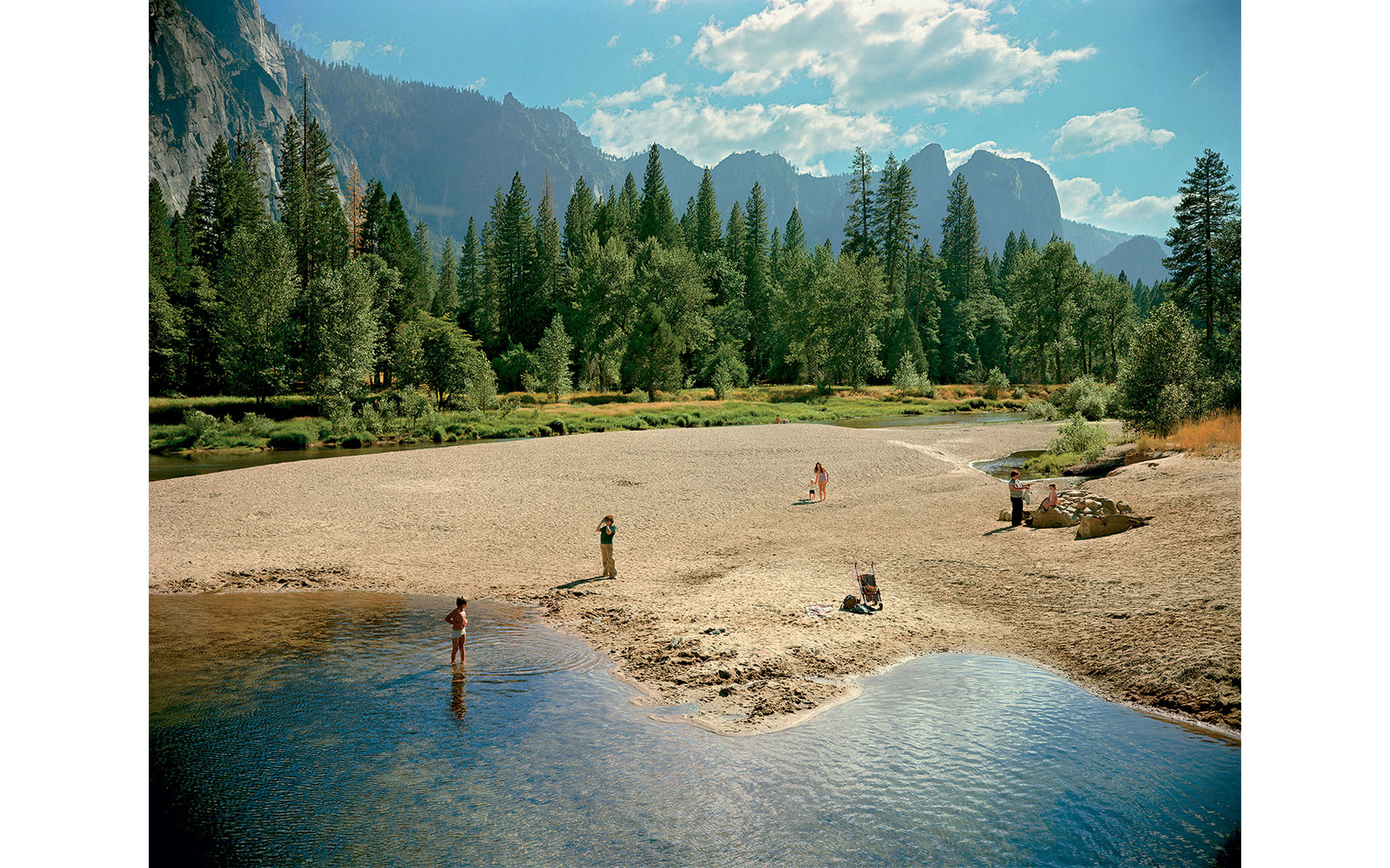 Stephen Shore, Merced River, Yosemite, National Park, California, August 13, 1979