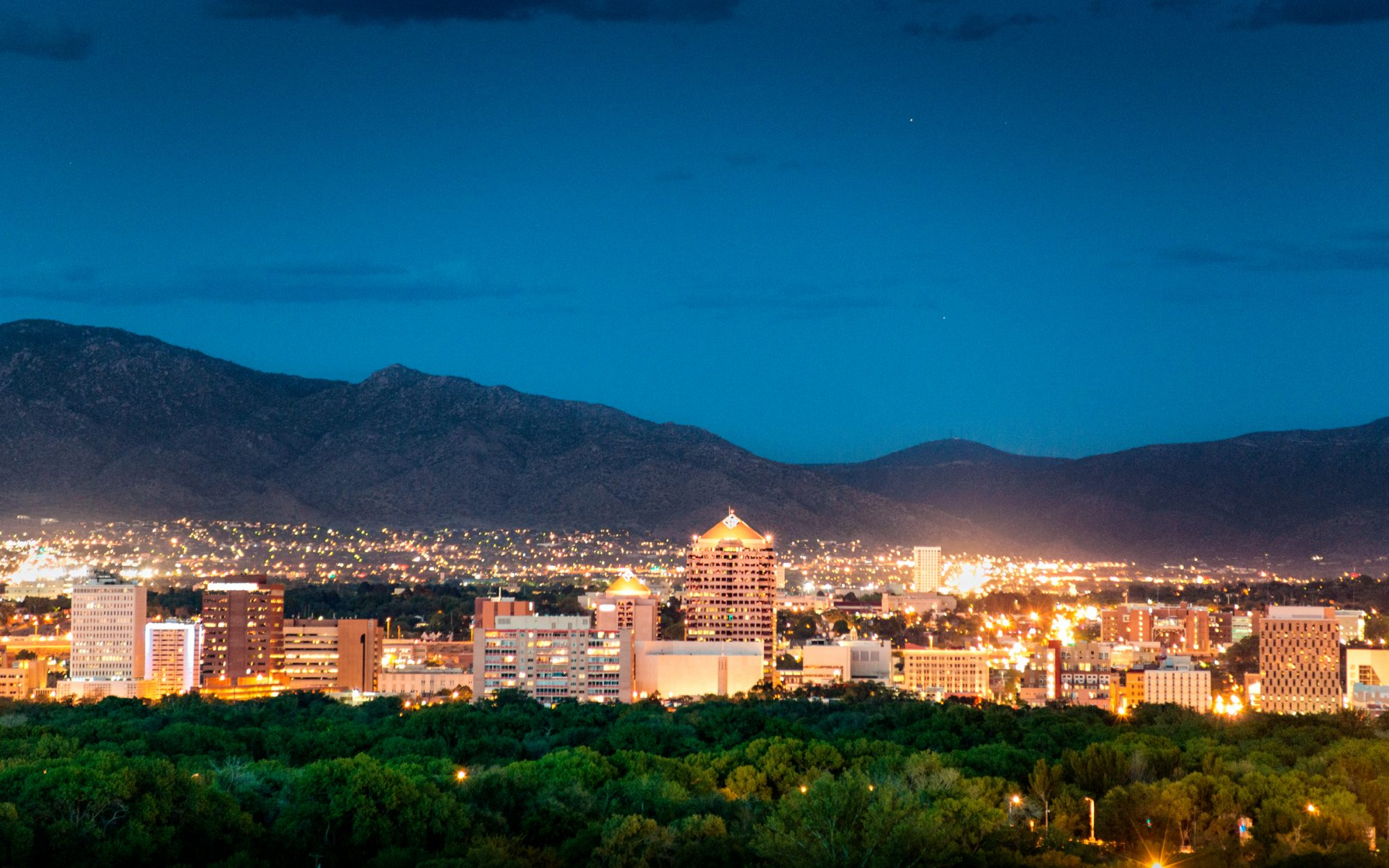 19. Albuquerque,  New Mexico