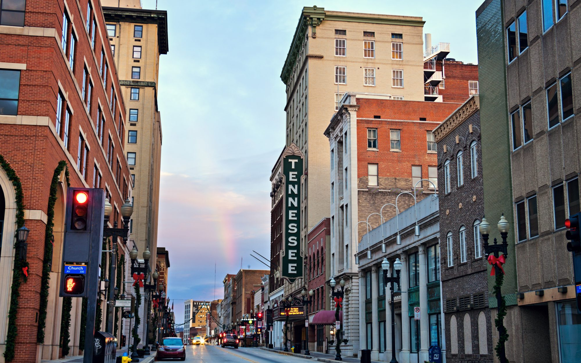 4. Knoxville,  Tennessee