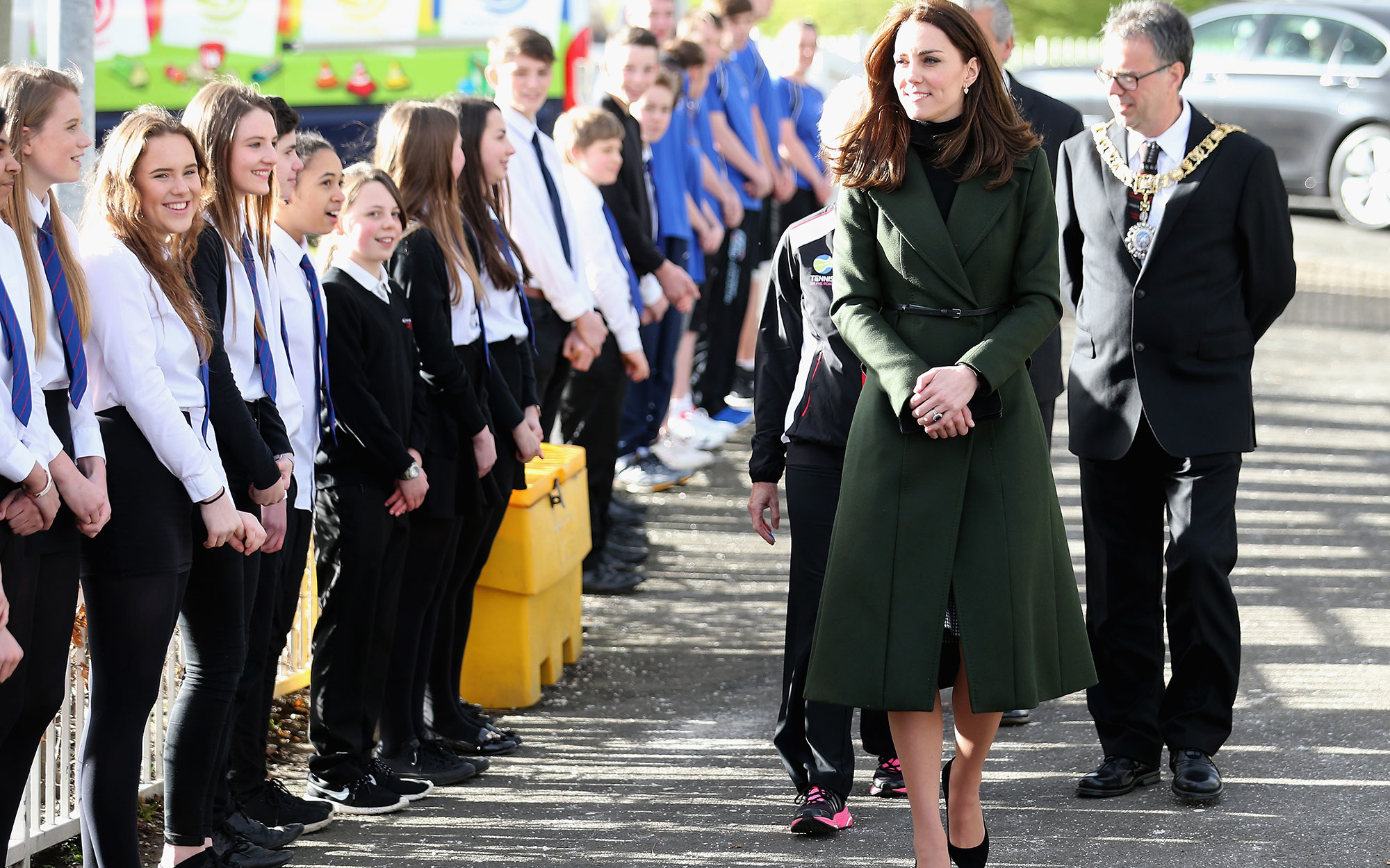 Kate Middleton Edinburgh, Scotland