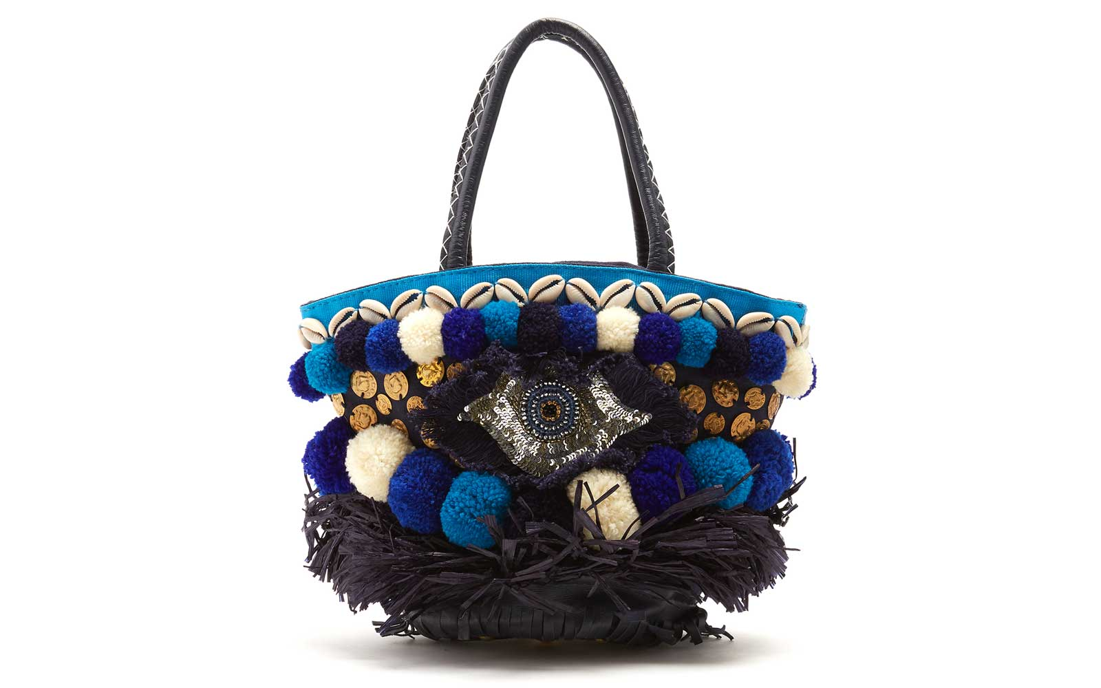 Figue Tuk Tuk Ibiza Mini Embellished Tote
