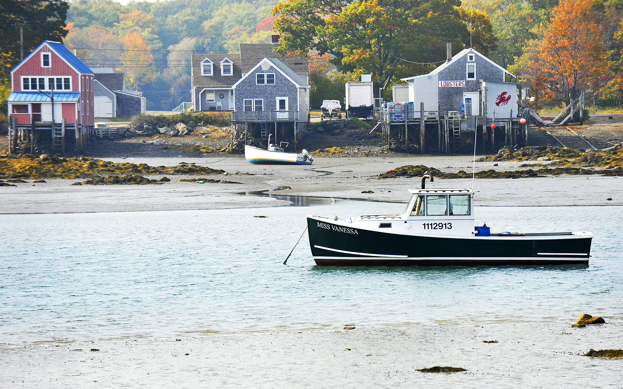 Kennebunkport at Cape Porpoise Maine