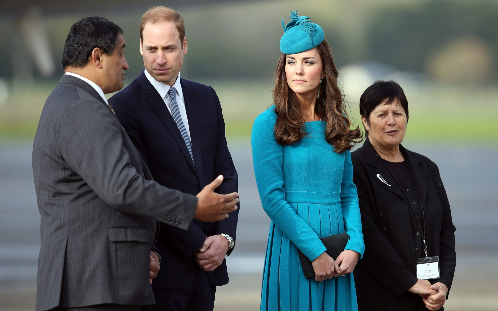 Kate Middleton's outfit in New Zealand