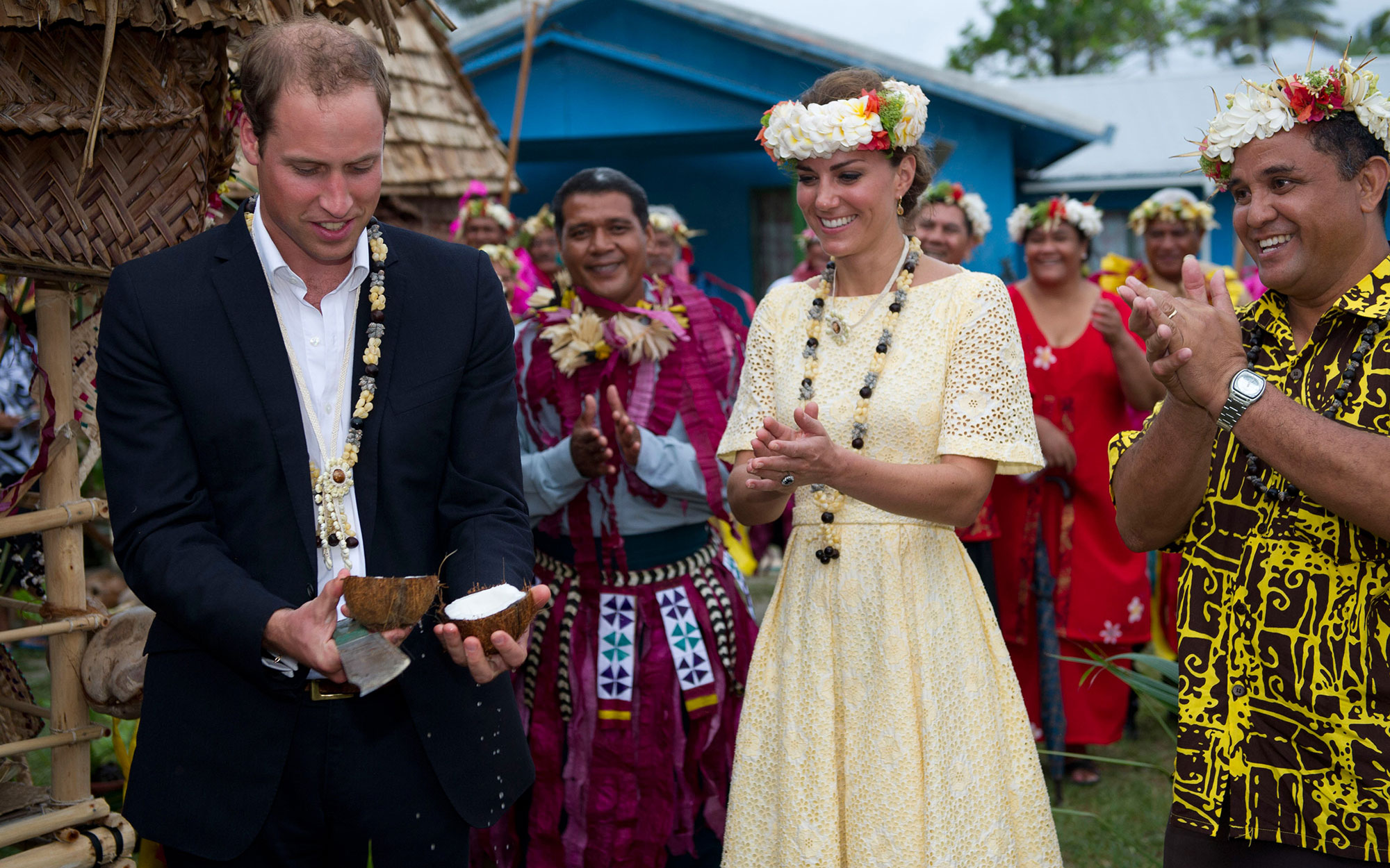 Kate Middleton Tuvalu