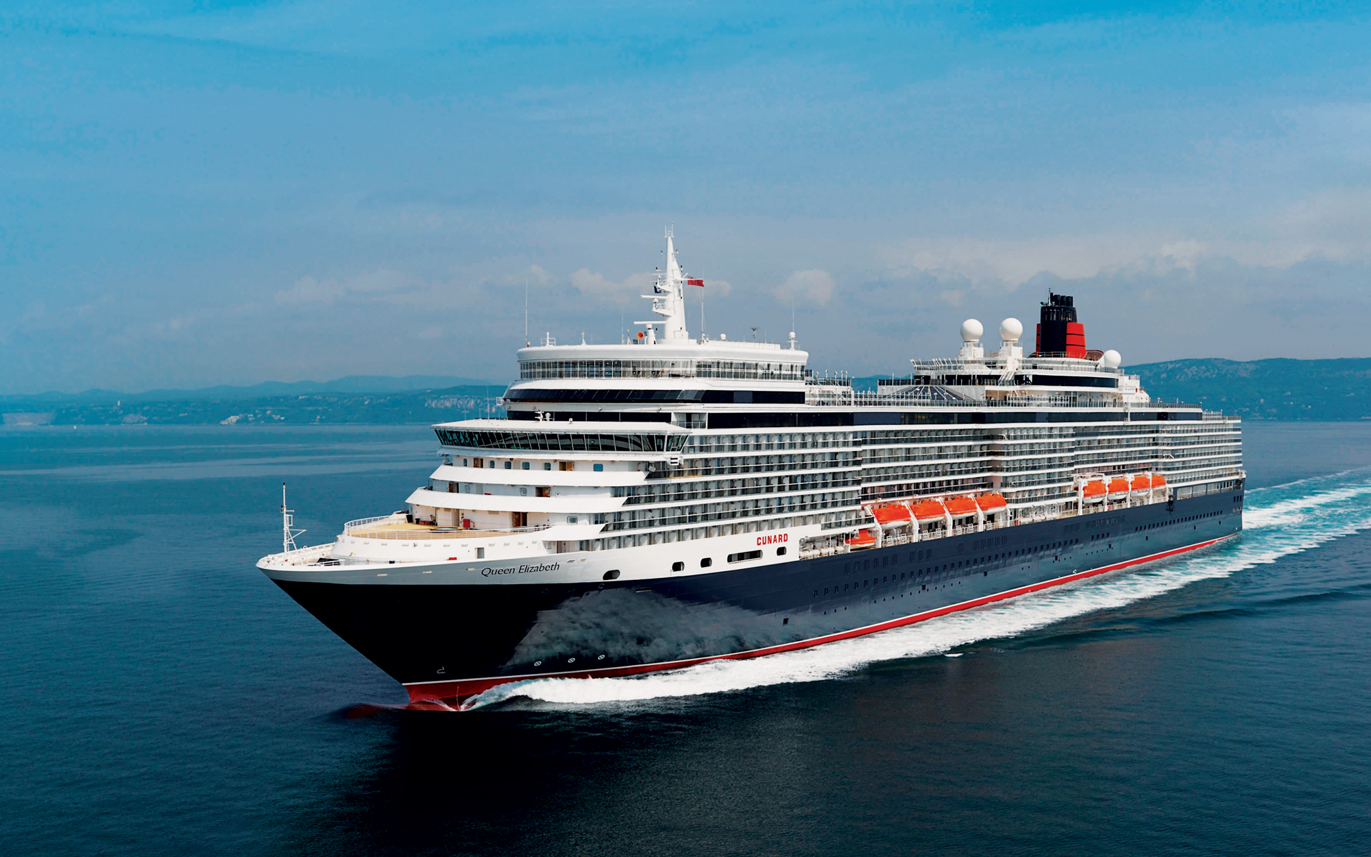 World's Best Large Ocean Cruise Line, Cunard