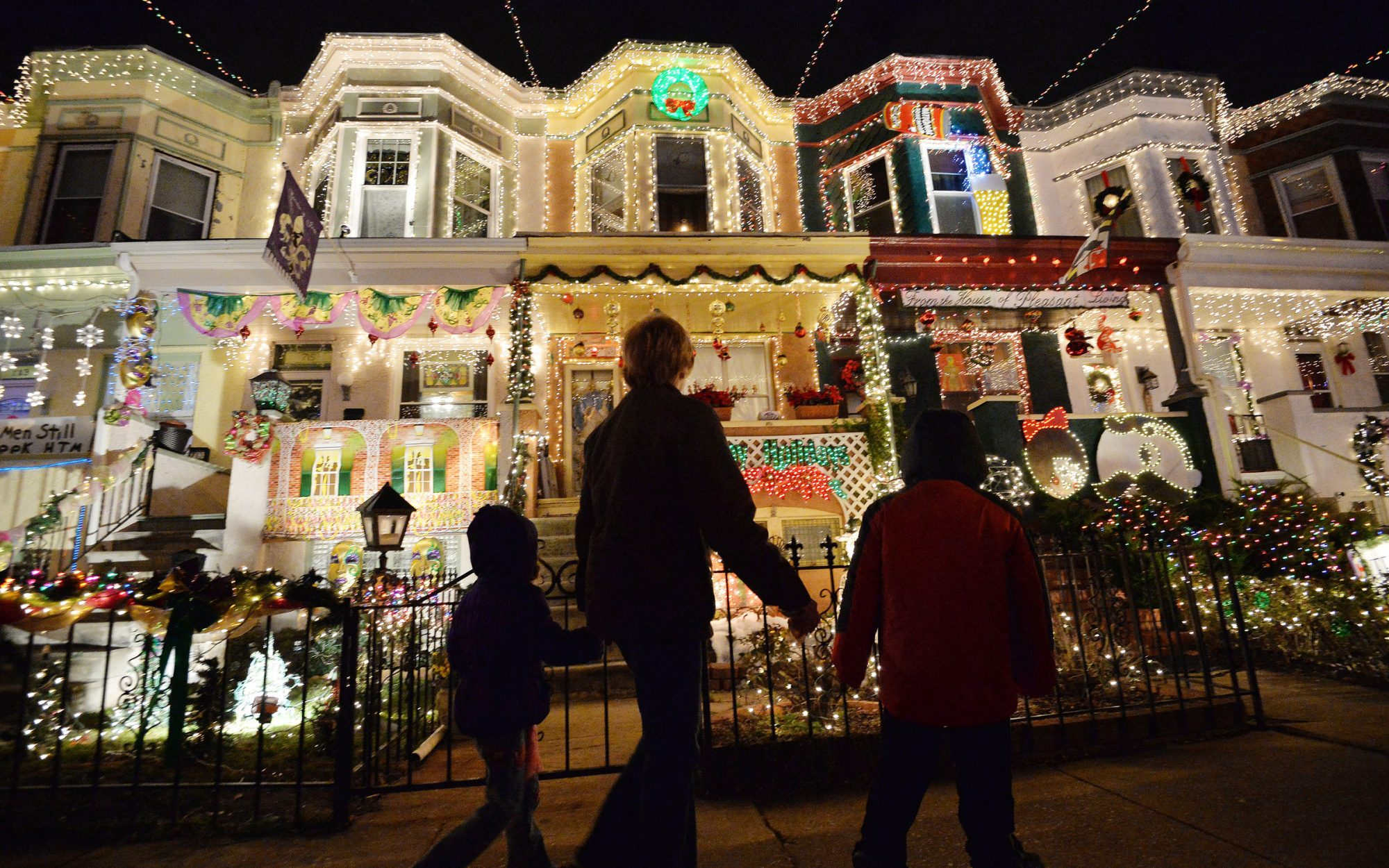 Christmas in Baltimore
