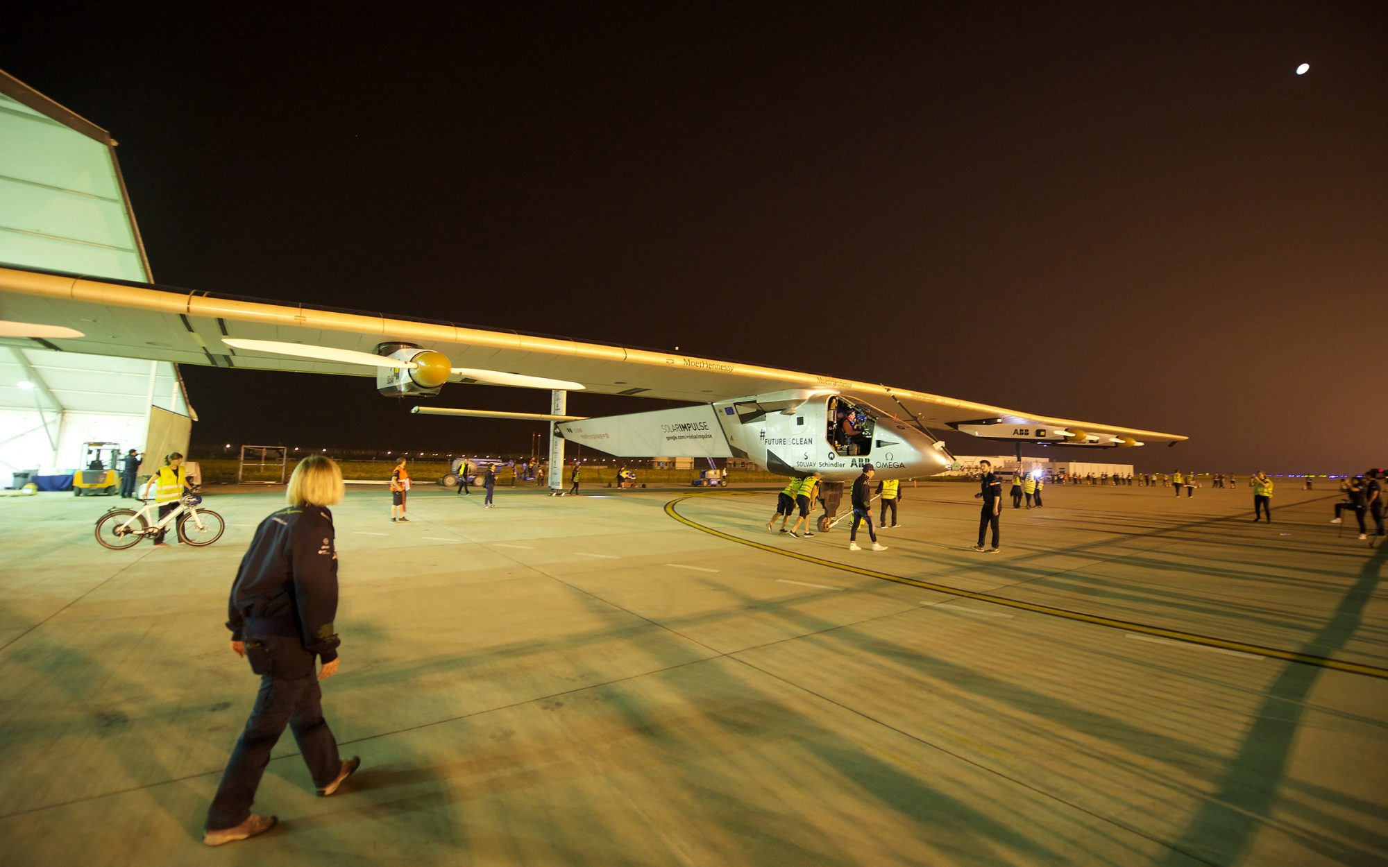 Solar Impulse in Nanjing