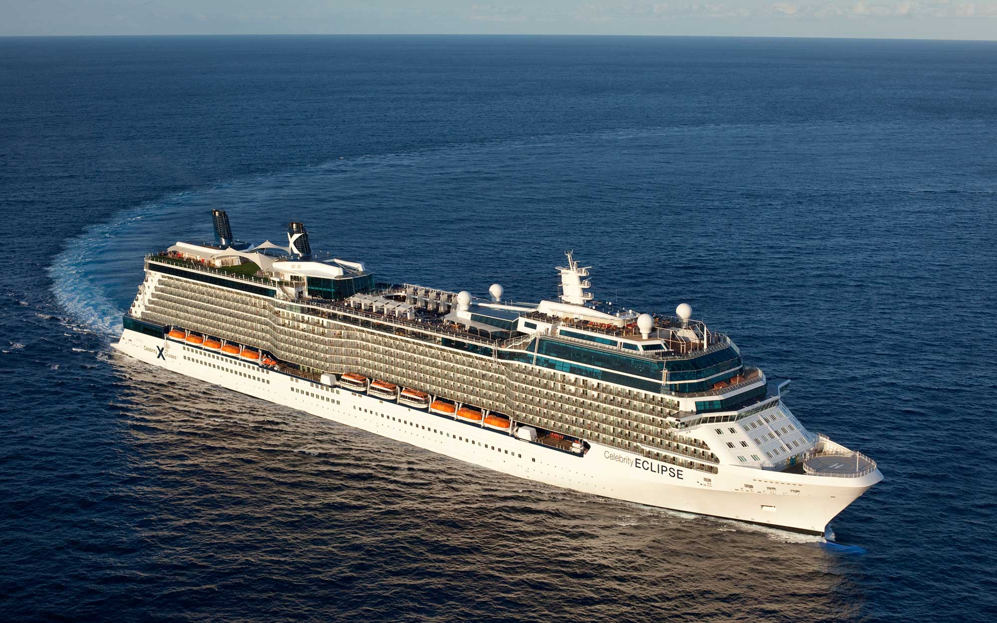 Celebrity Eclipse on 11/14/2010 off Miami shoreline