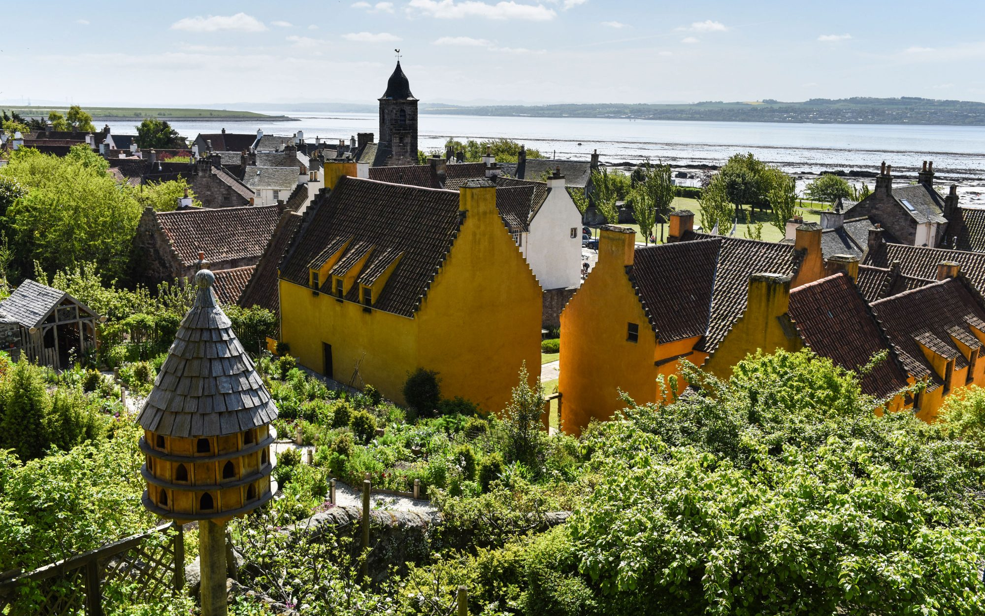 Culross Gardens Scotland