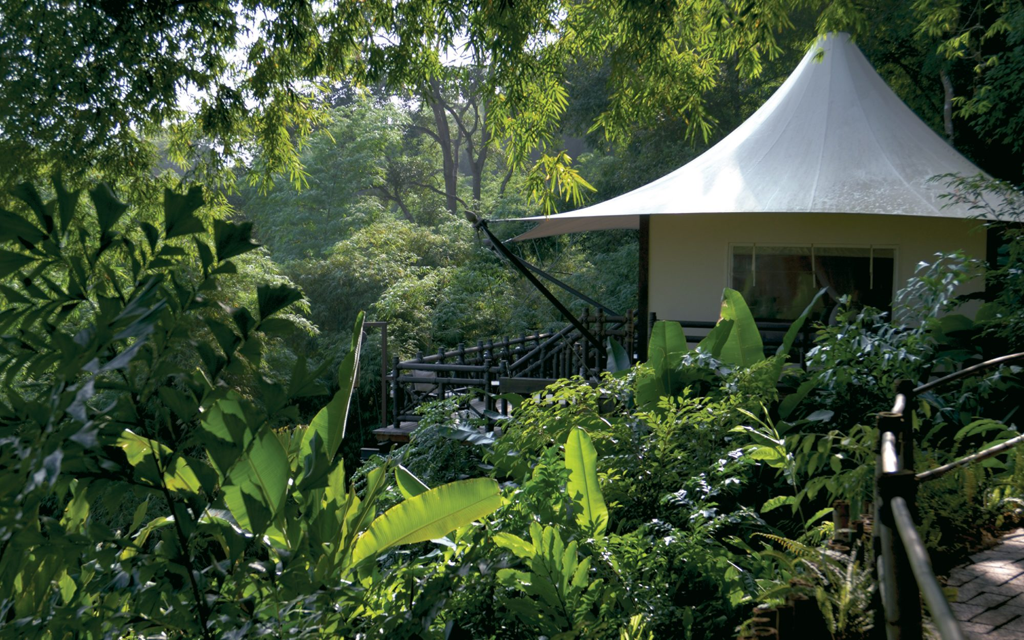 Four Seasons Tented Camp Golden Triangle Chiang Rai Thailand