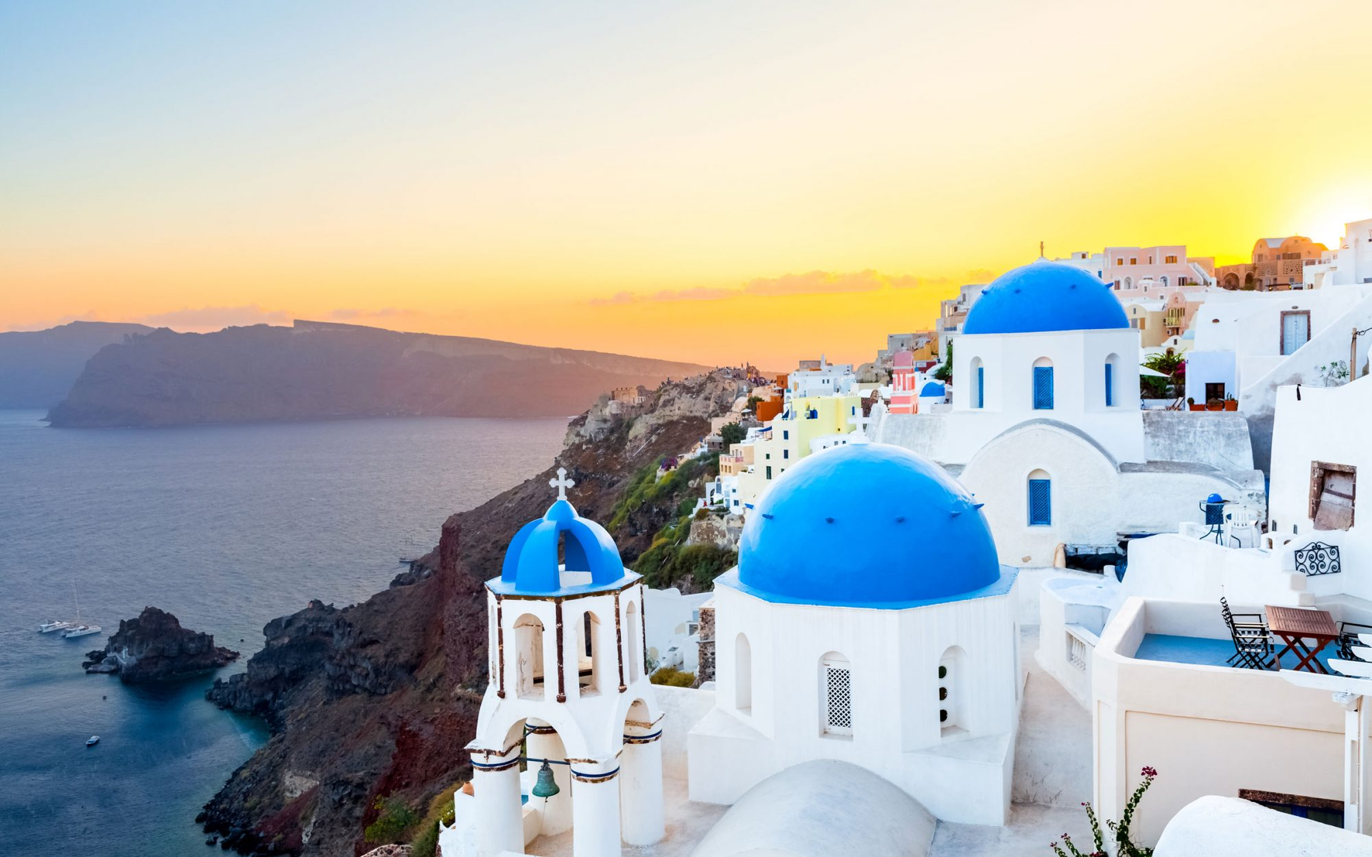 As if we needed another reason to visit Santorini.