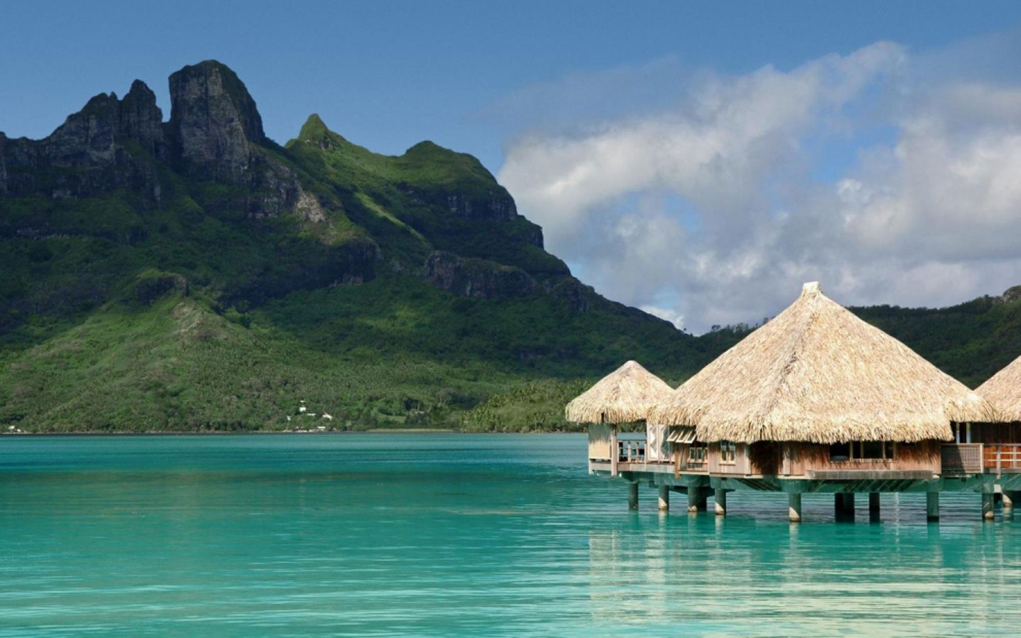 No. 3: The St. Regis Bora Bora Resort, French Polynesia