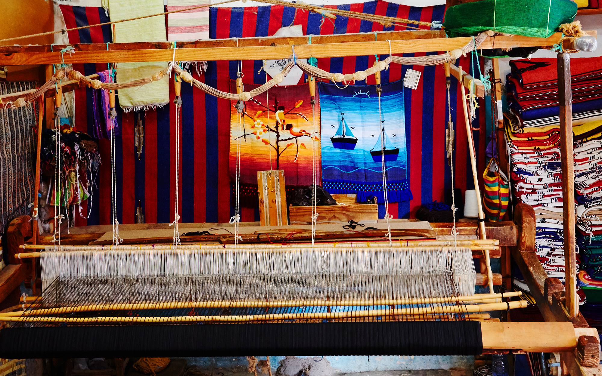 Loom in Chefchaouen Morocco